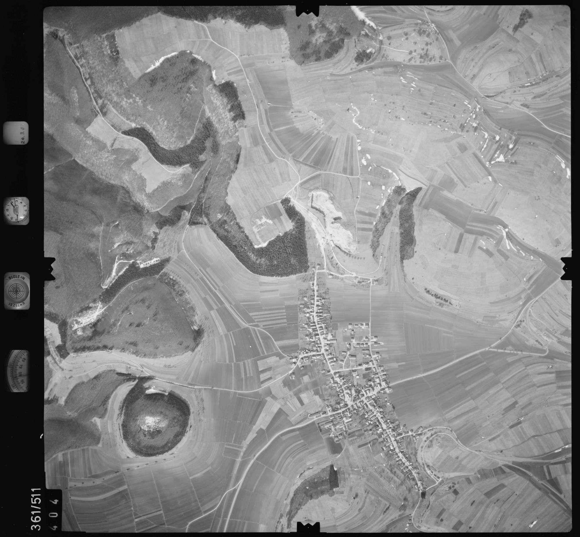 Luftbild: Film 20 Bildnr. 404, Bild 1