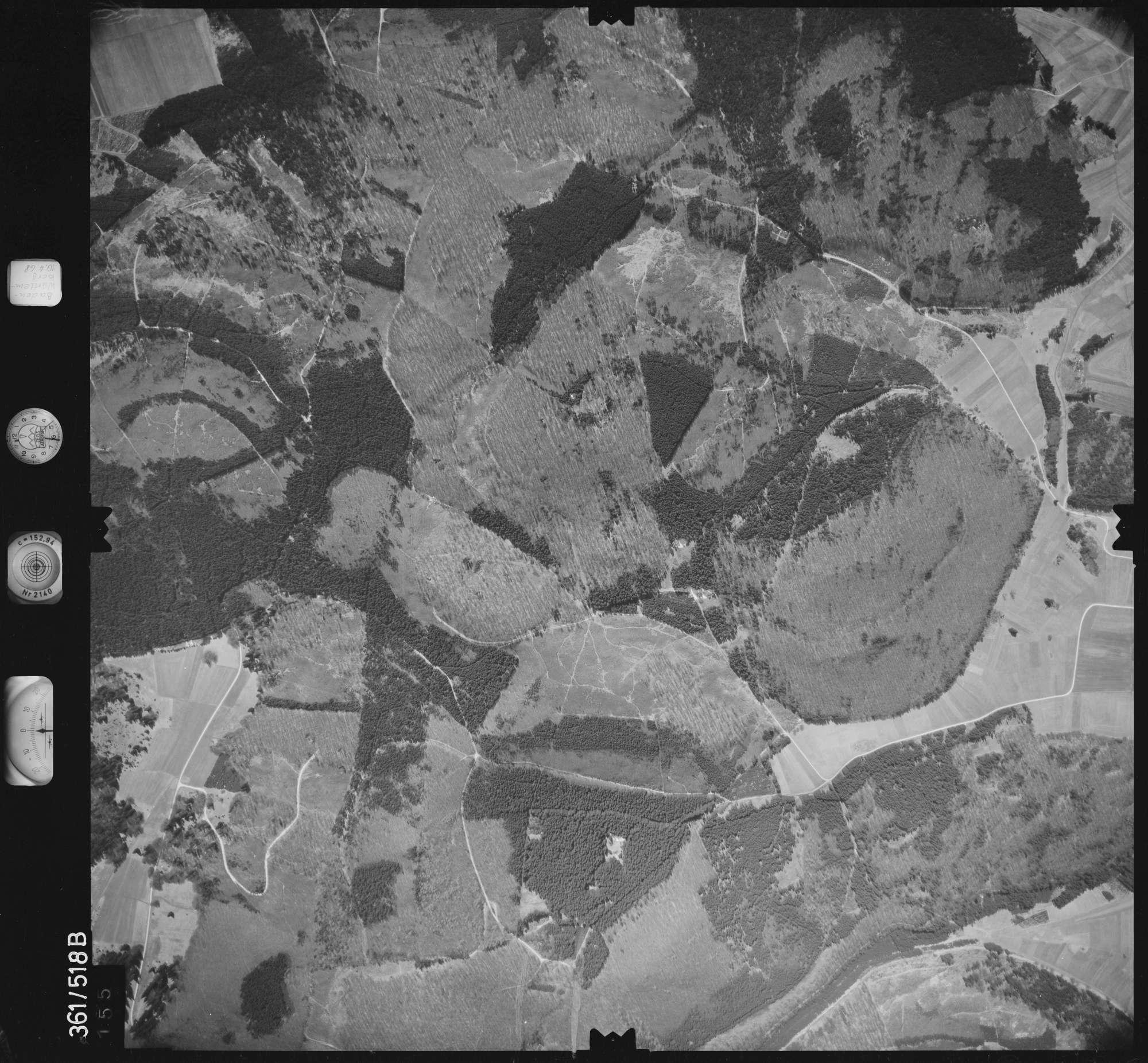Luftbild: Film 40 Bildnr. 155, Bild 1