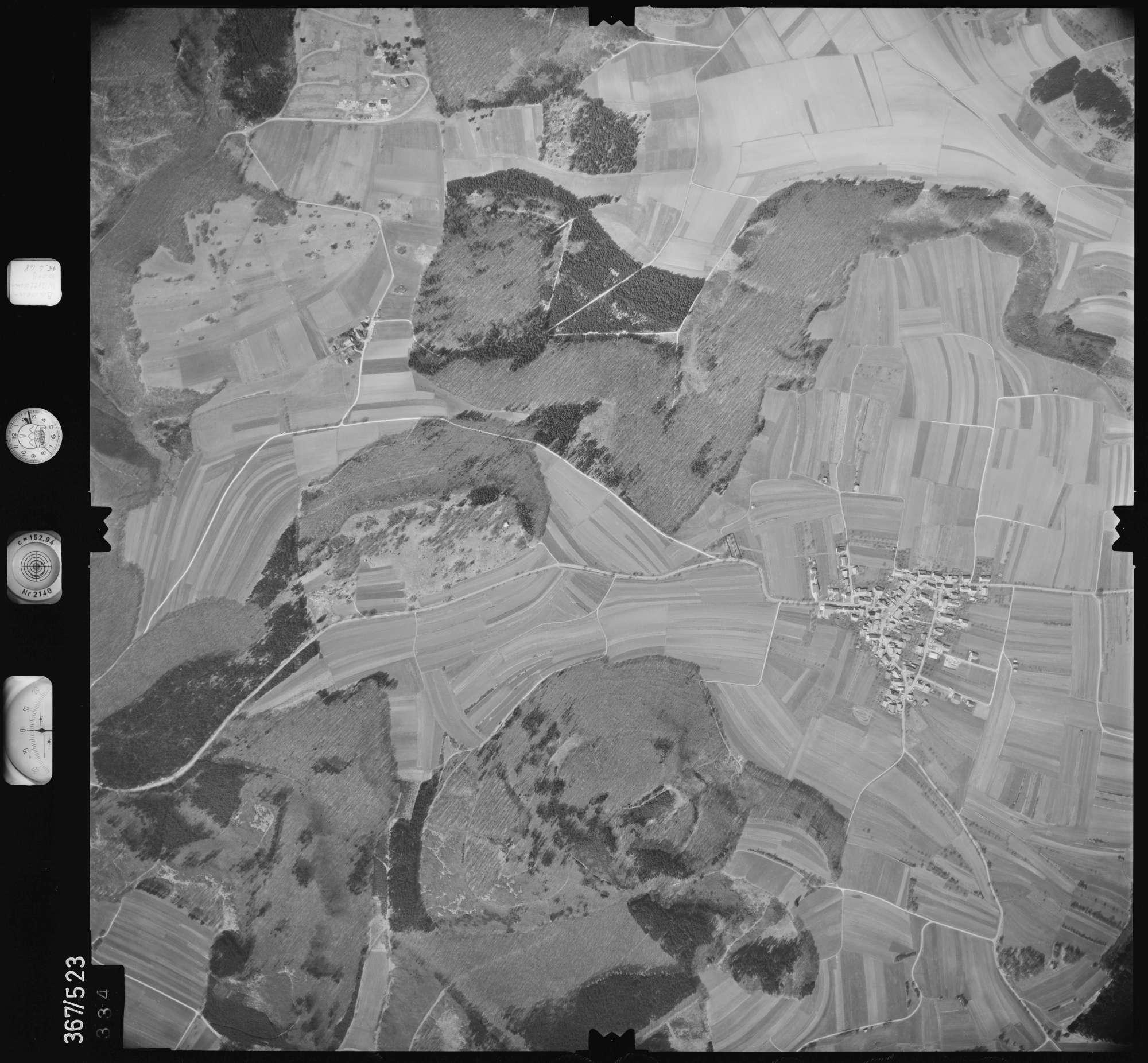 Luftbild: Film 34 Bildnr. 334, Bild 1