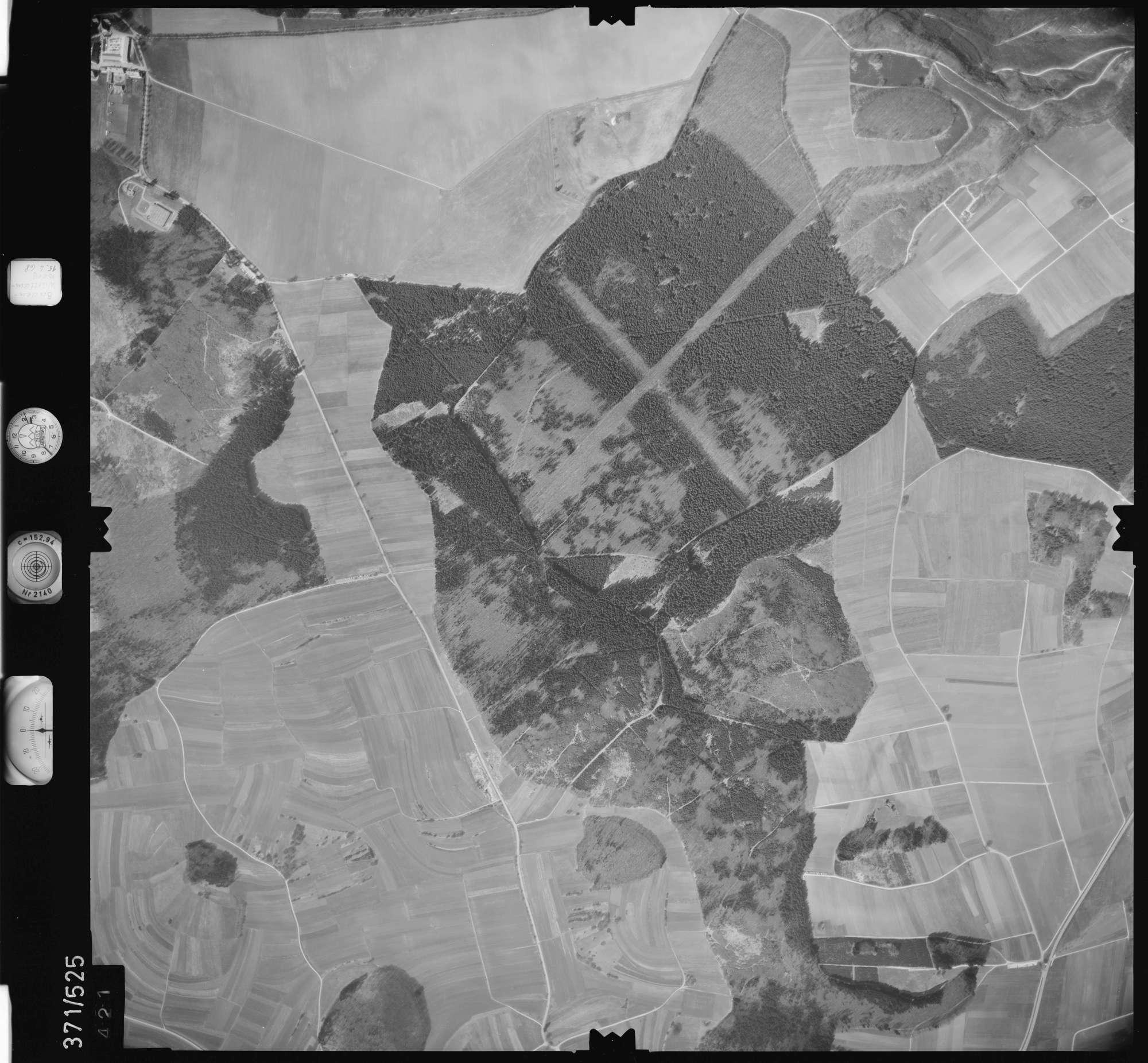 Luftbild: Film 34 Bildnr. 421, Bild 1