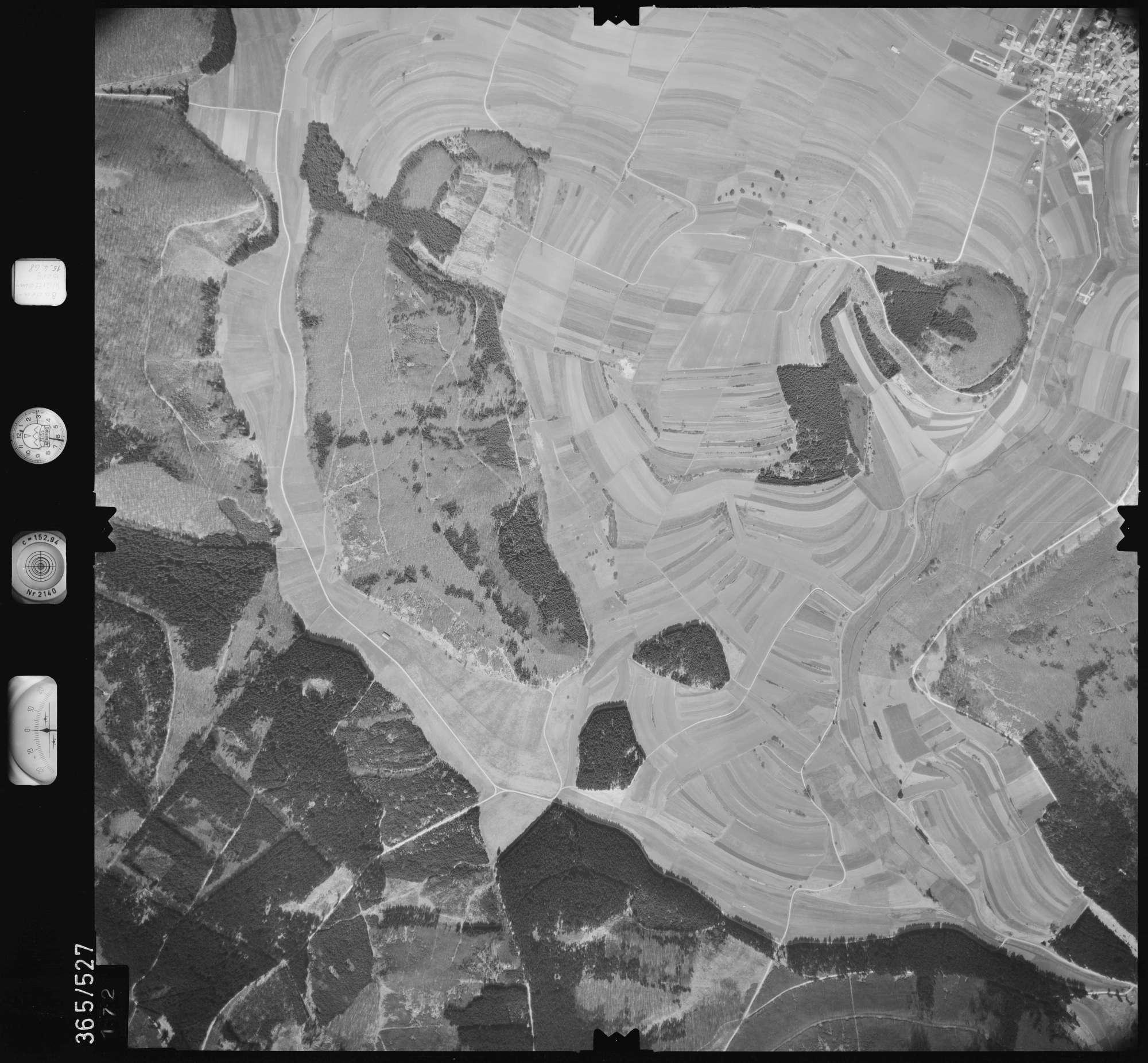 Luftbild: Film 45 Bildnr. 172, Bild 1