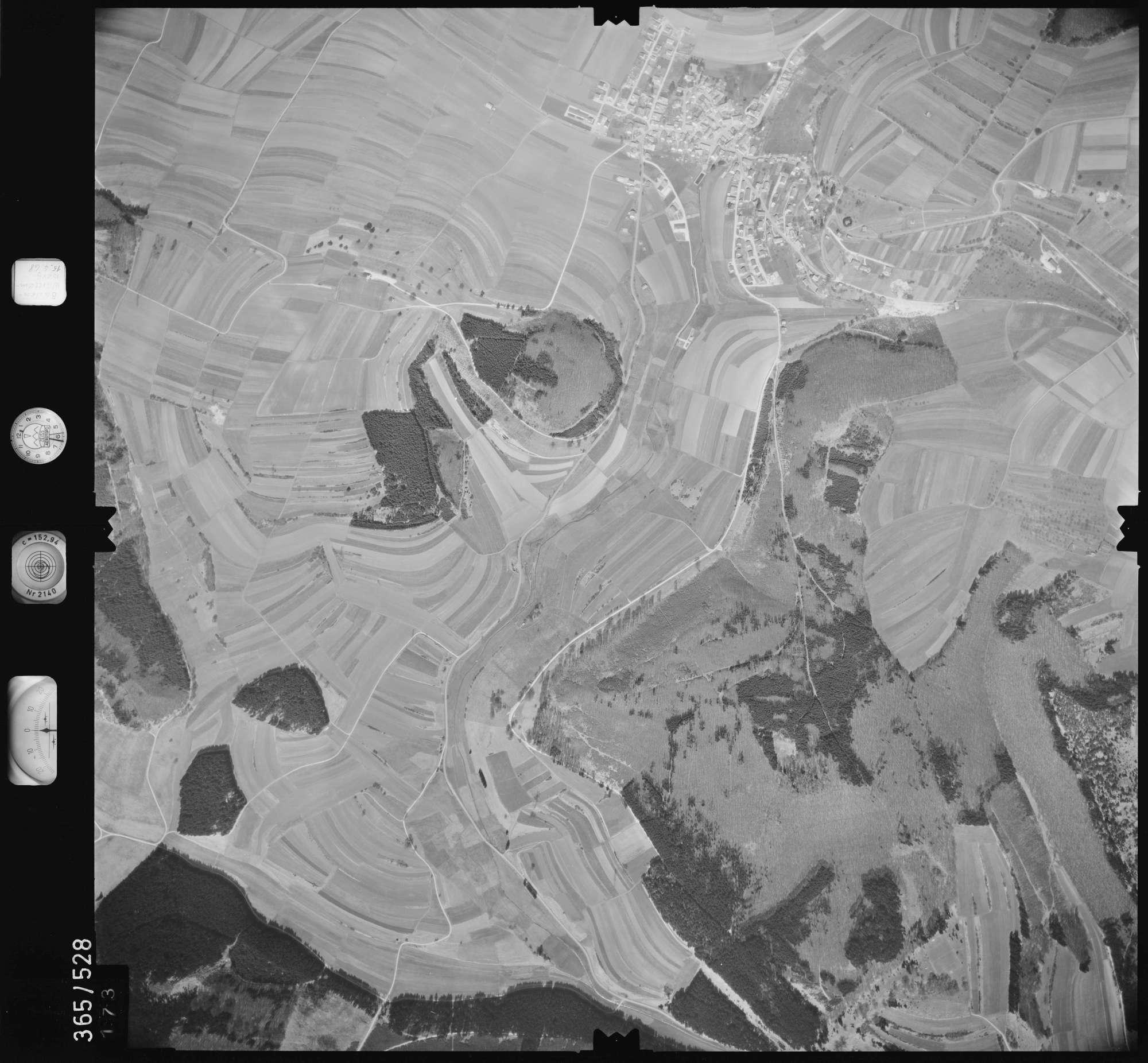 Luftbild: Film 45 Bildnr. 173, Bild 1