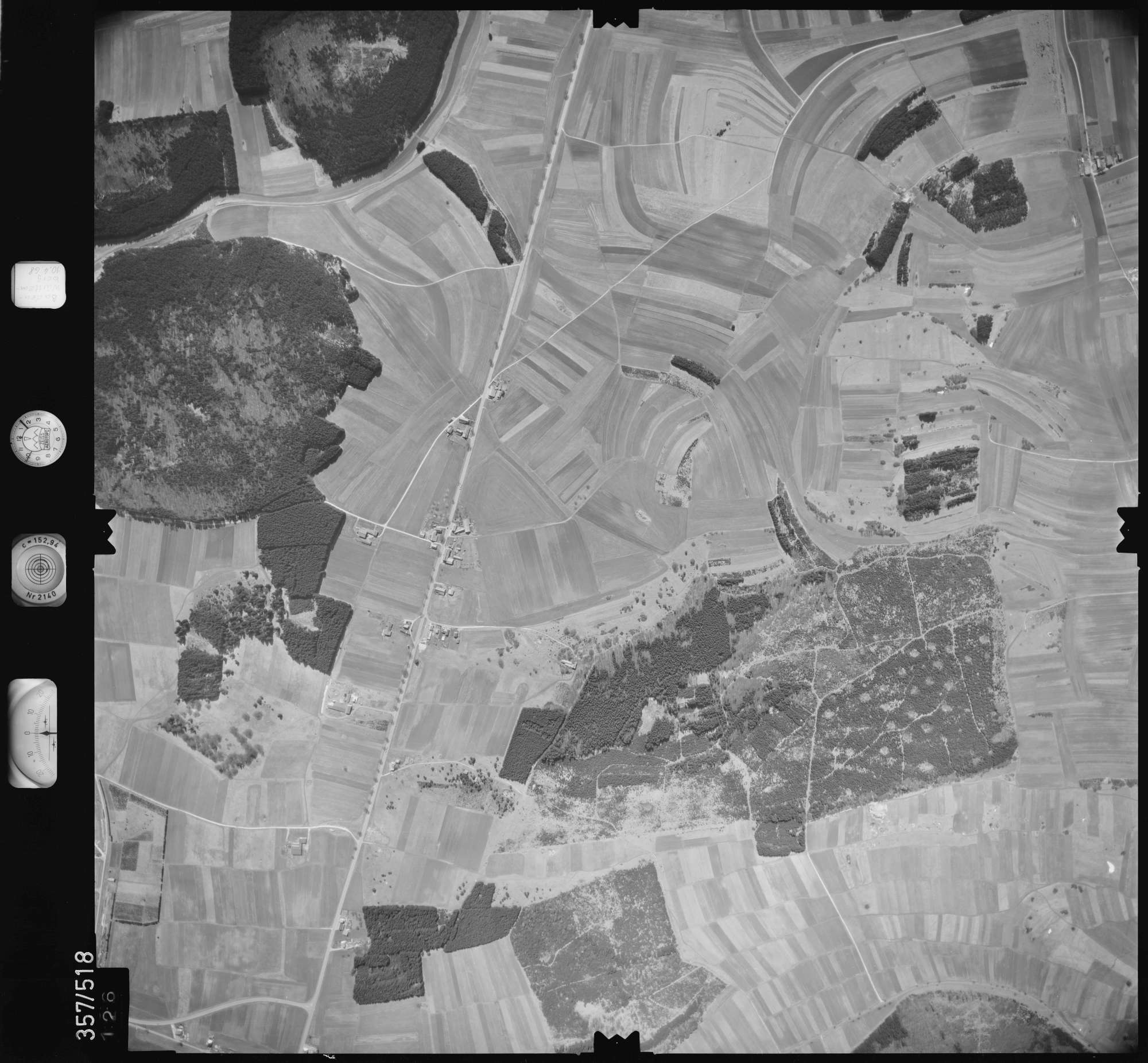 Luftbild: Film 38 Bildnr. 126, Bild 1