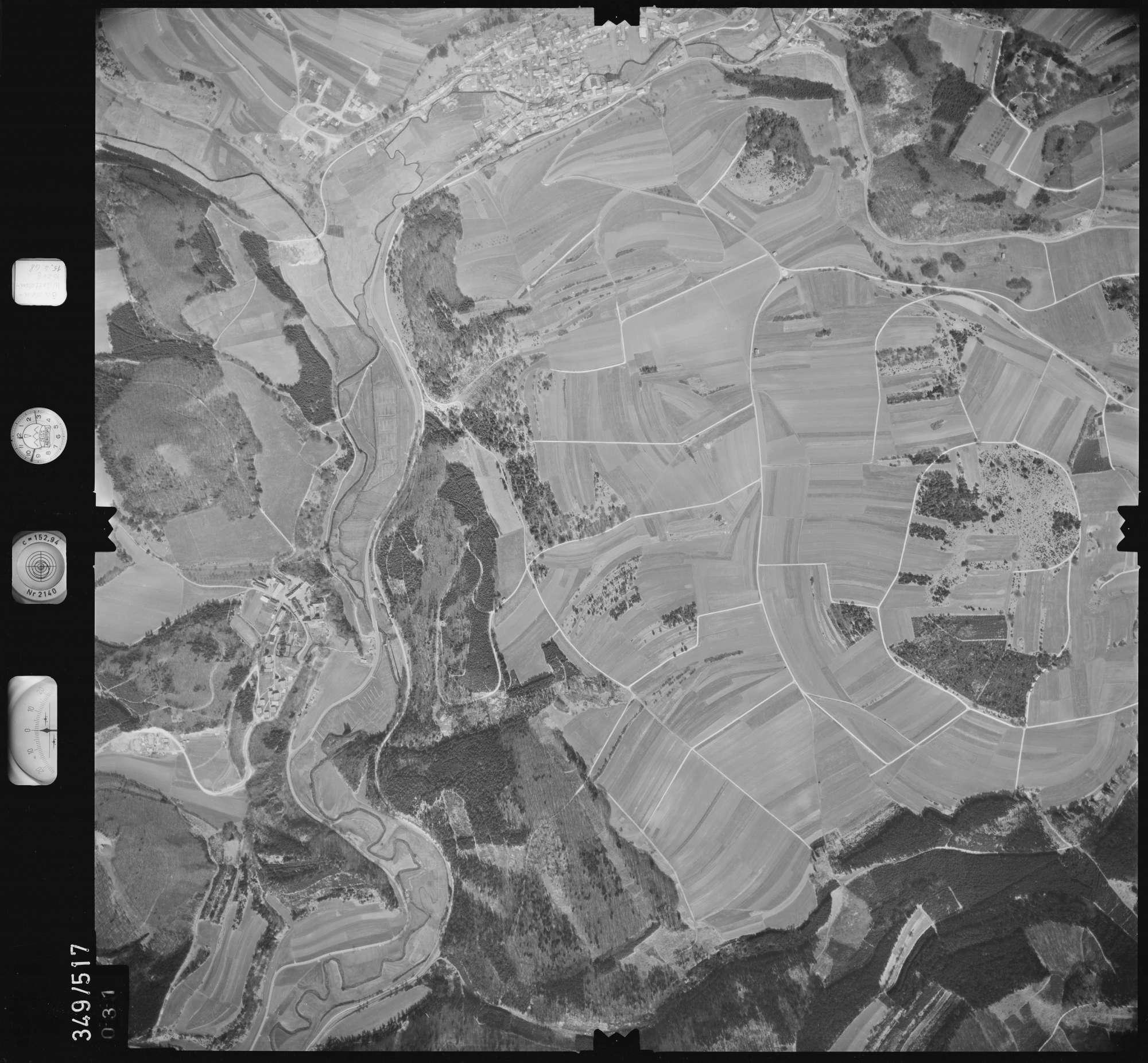 Luftbild: Film 45 Bildnr. 31, Bild 1