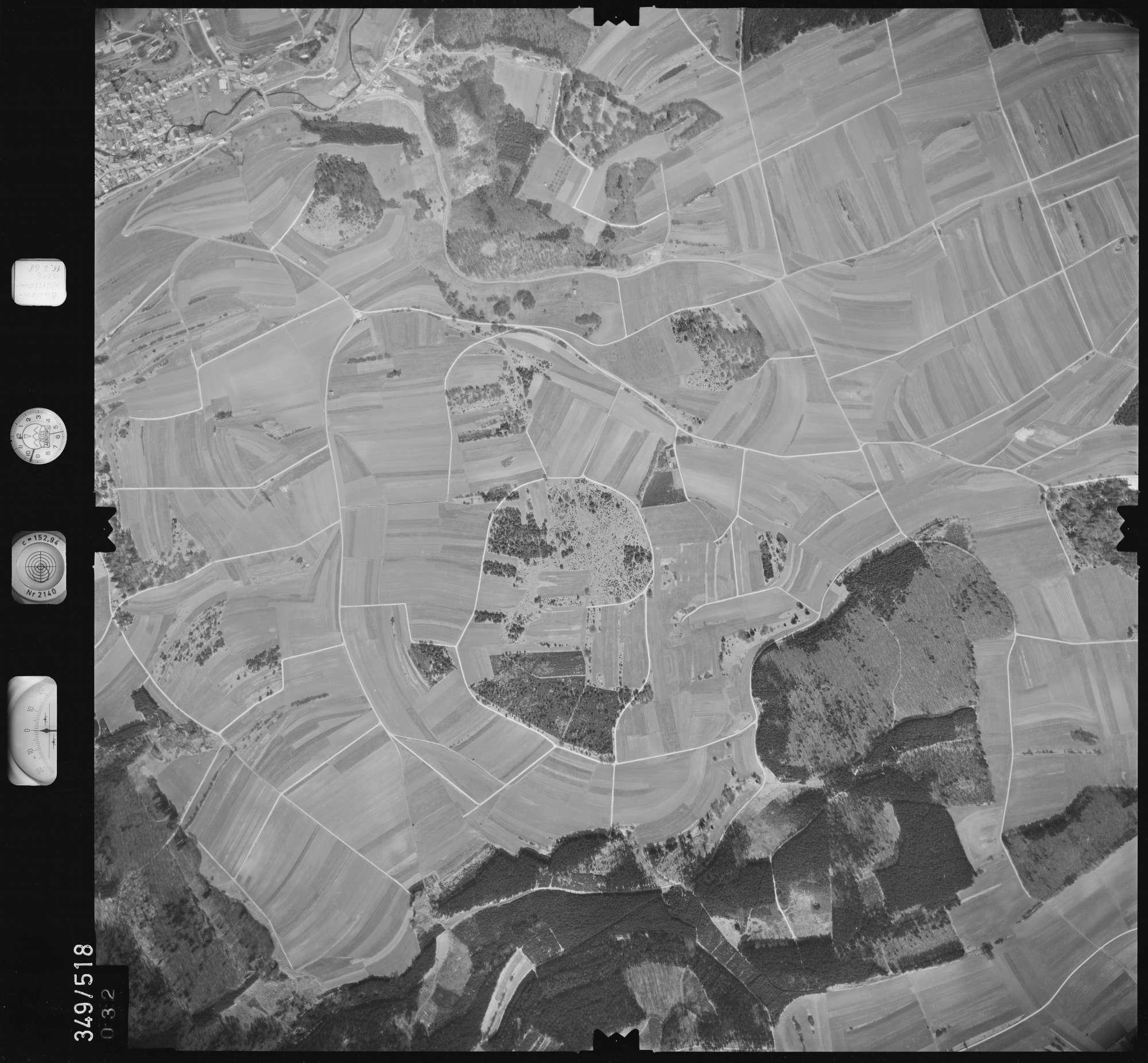 Luftbild: Film 45 Bildnr. 32, Bild 1