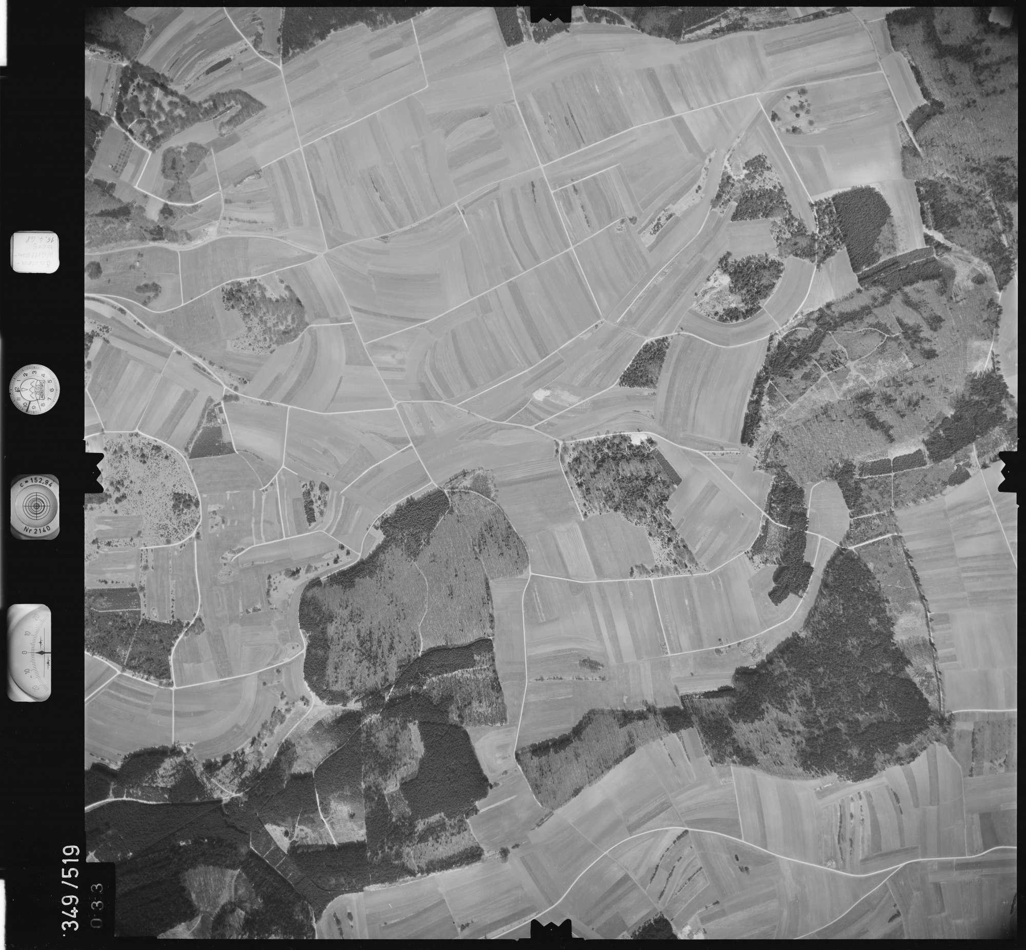 Luftbild: Film 45 Bildnr. 33, Bild 1