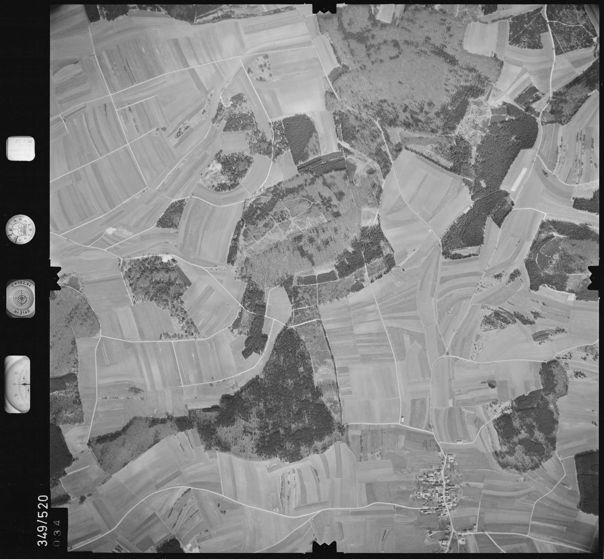 Luftbild: Film 45 Bildnr. 34, Bild 1