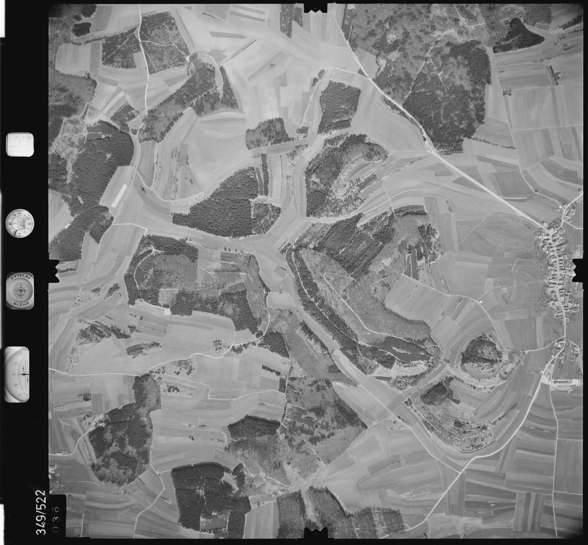 Luftbild: Film 45 Bildnr. 36, Bild 1