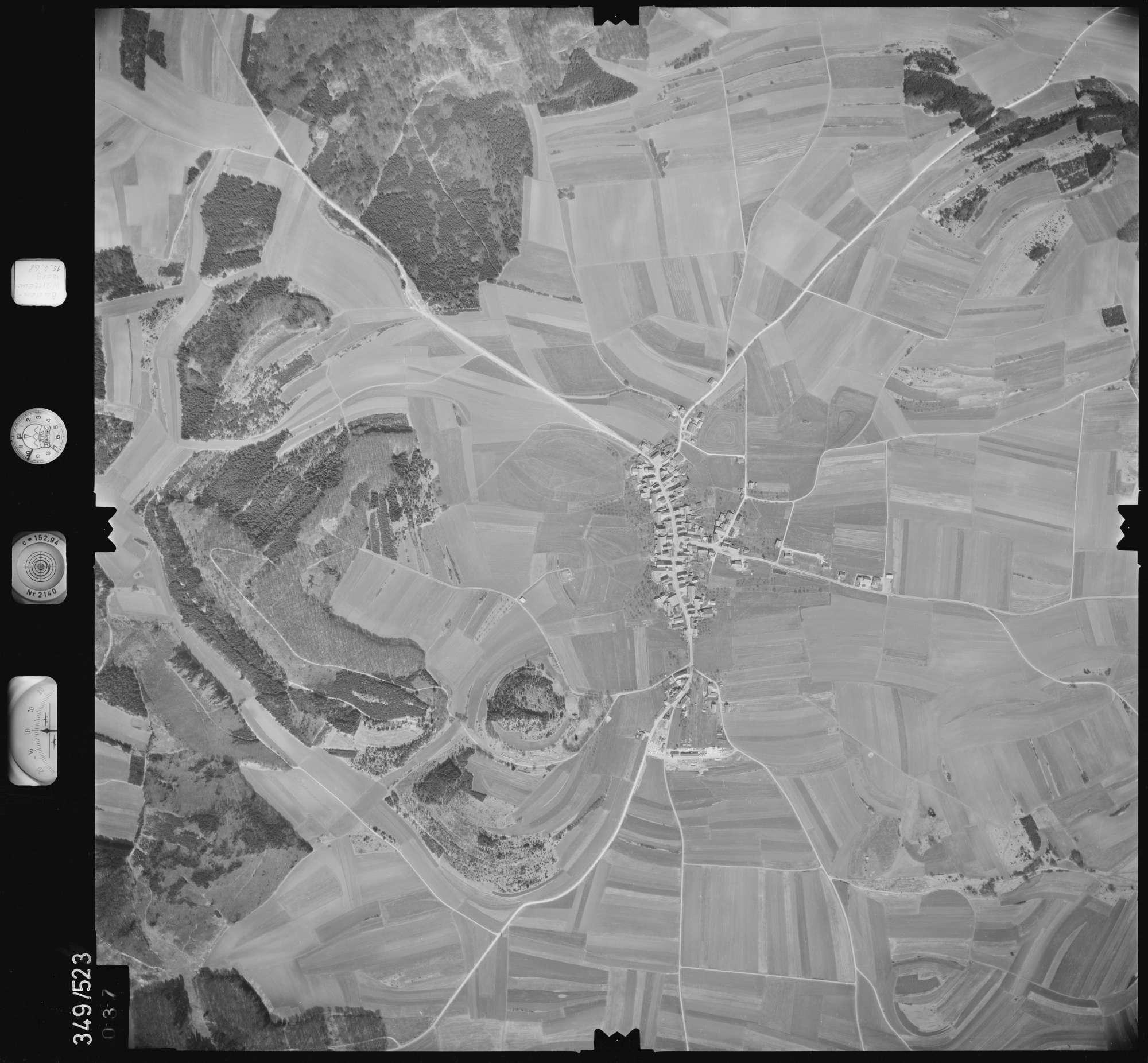 Luftbild: Film 45 Bildnr. 37, Bild 1