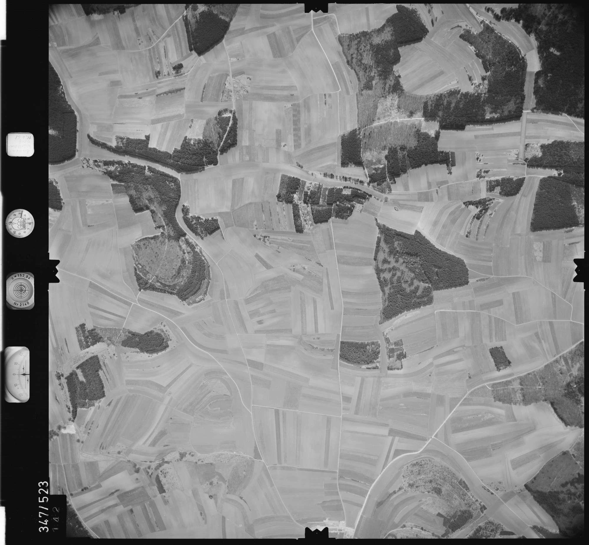 Luftbild: Film 45 Bildnr. 142, Bild 1