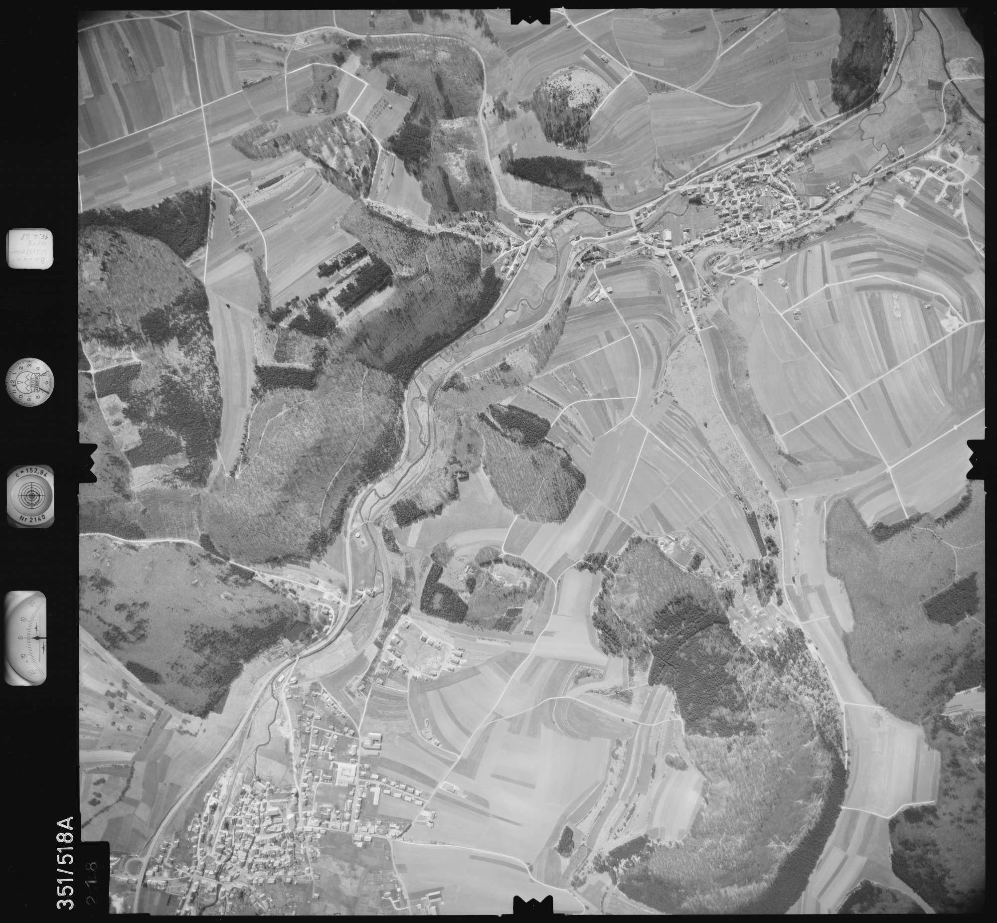 Luftbild: Film 105 Bildnr. 218, Bild 1