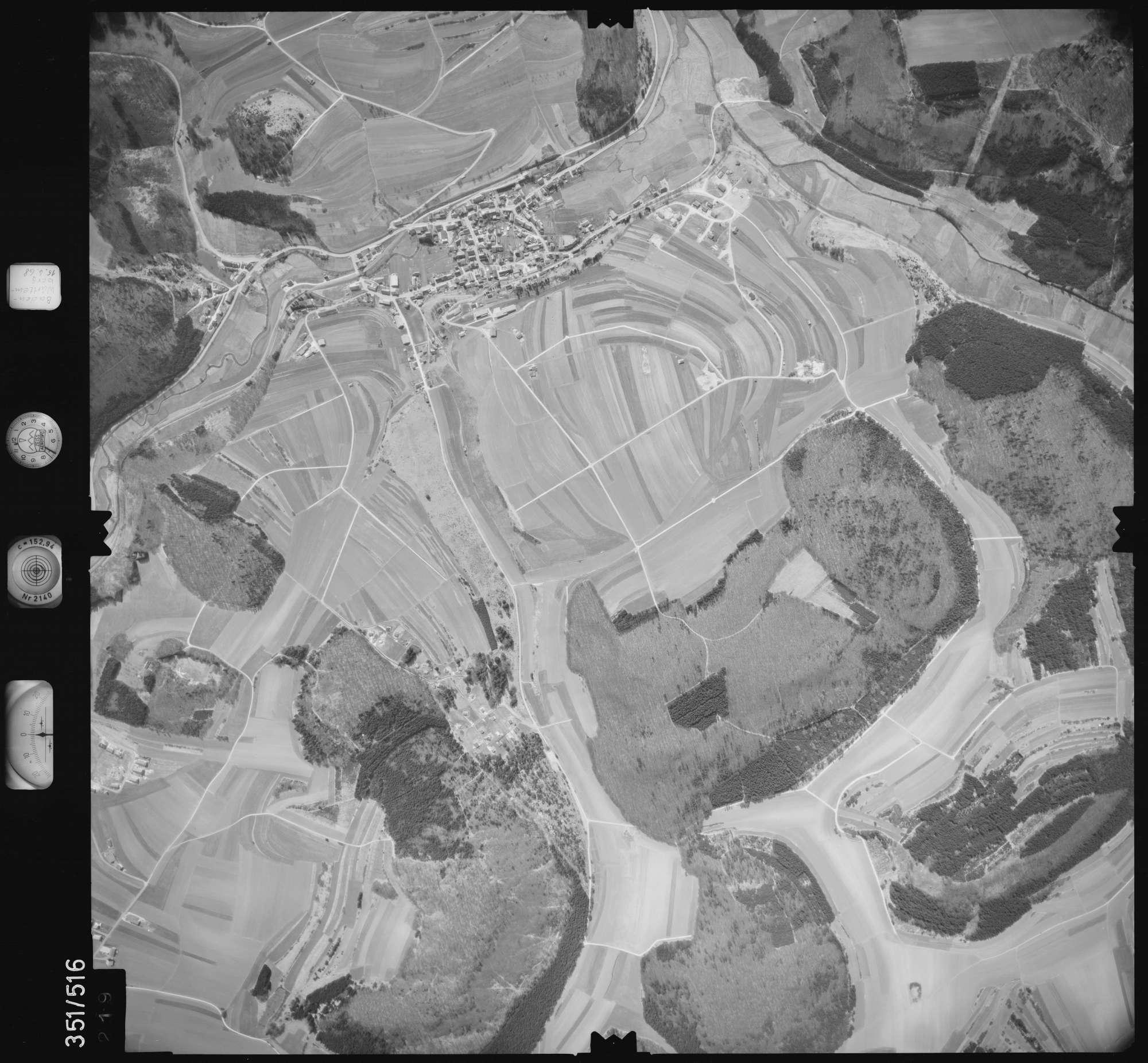 Luftbild: Film 105 Bildnr. 219, Bild 1