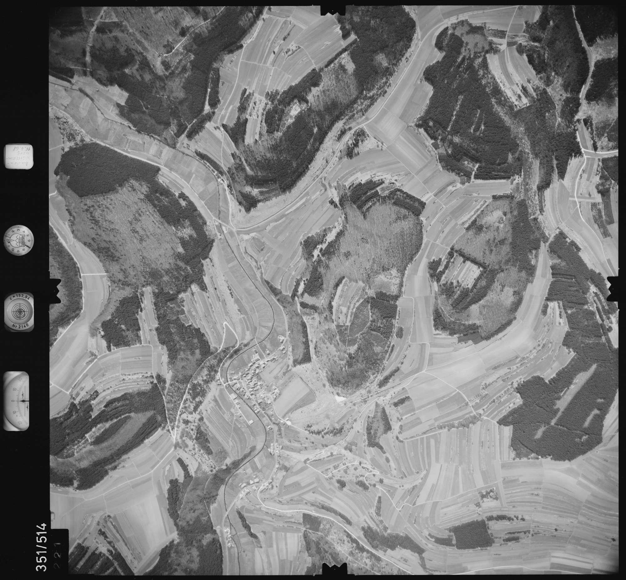 Luftbild: Film 105 Bildnr. 221, Bild 1
