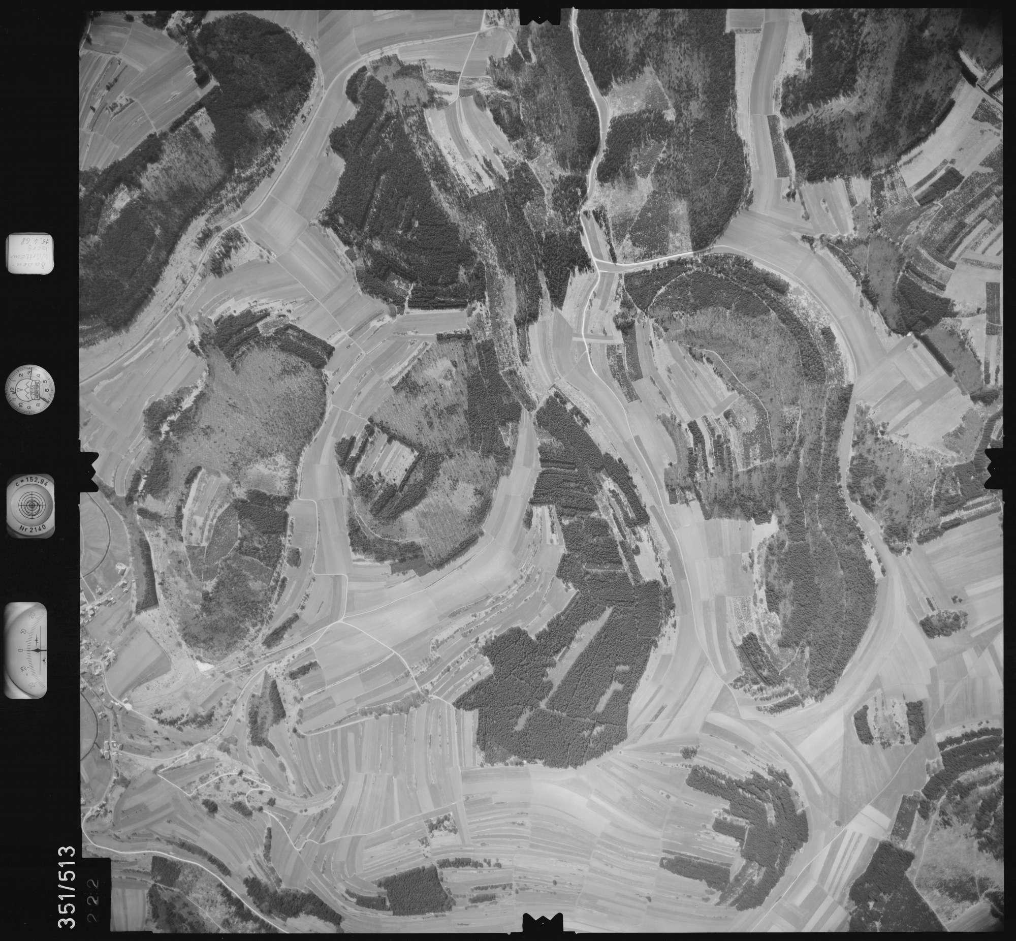 Luftbild: Film 105 Bildnr. 222, Bild 1