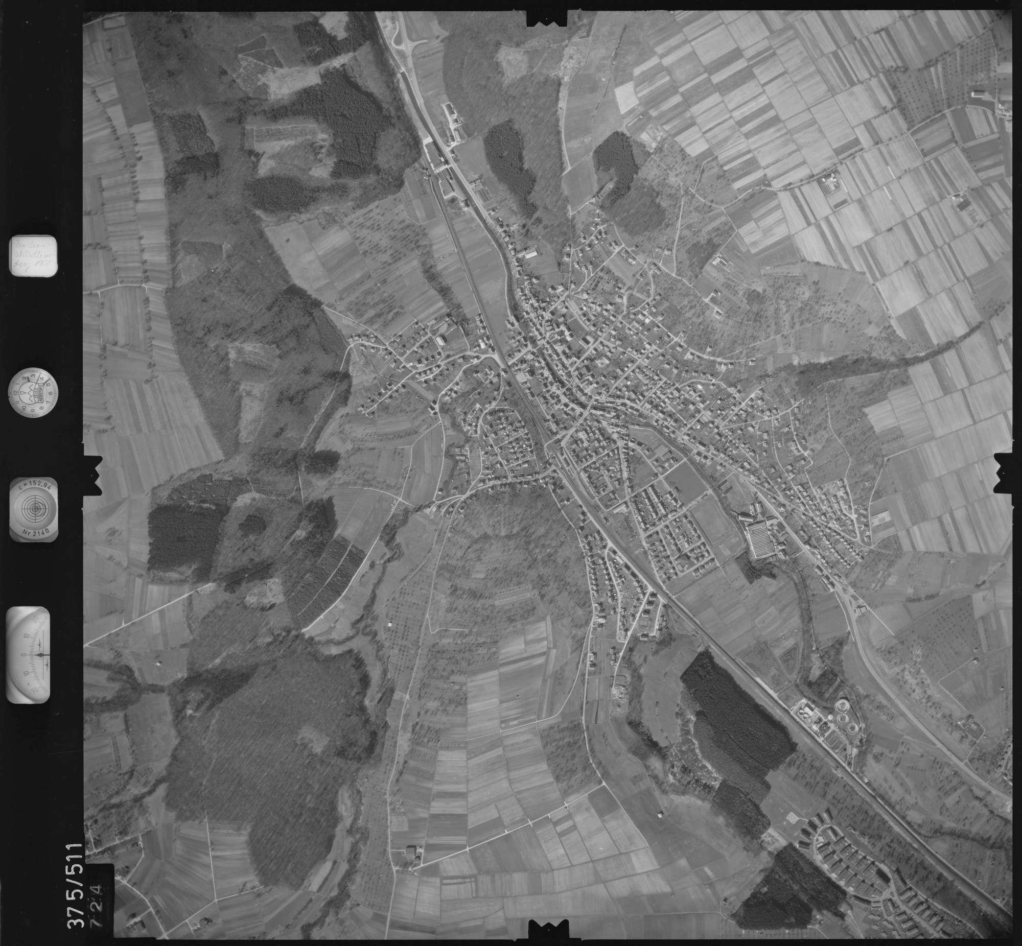 Luftbild: Film 31 Bildnr. 724, Bild 1