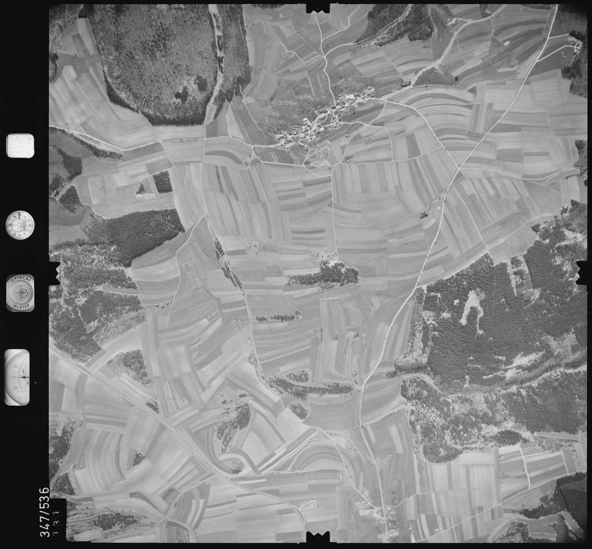Luftbild: Film 45 Bildnr. 131, Bild 1