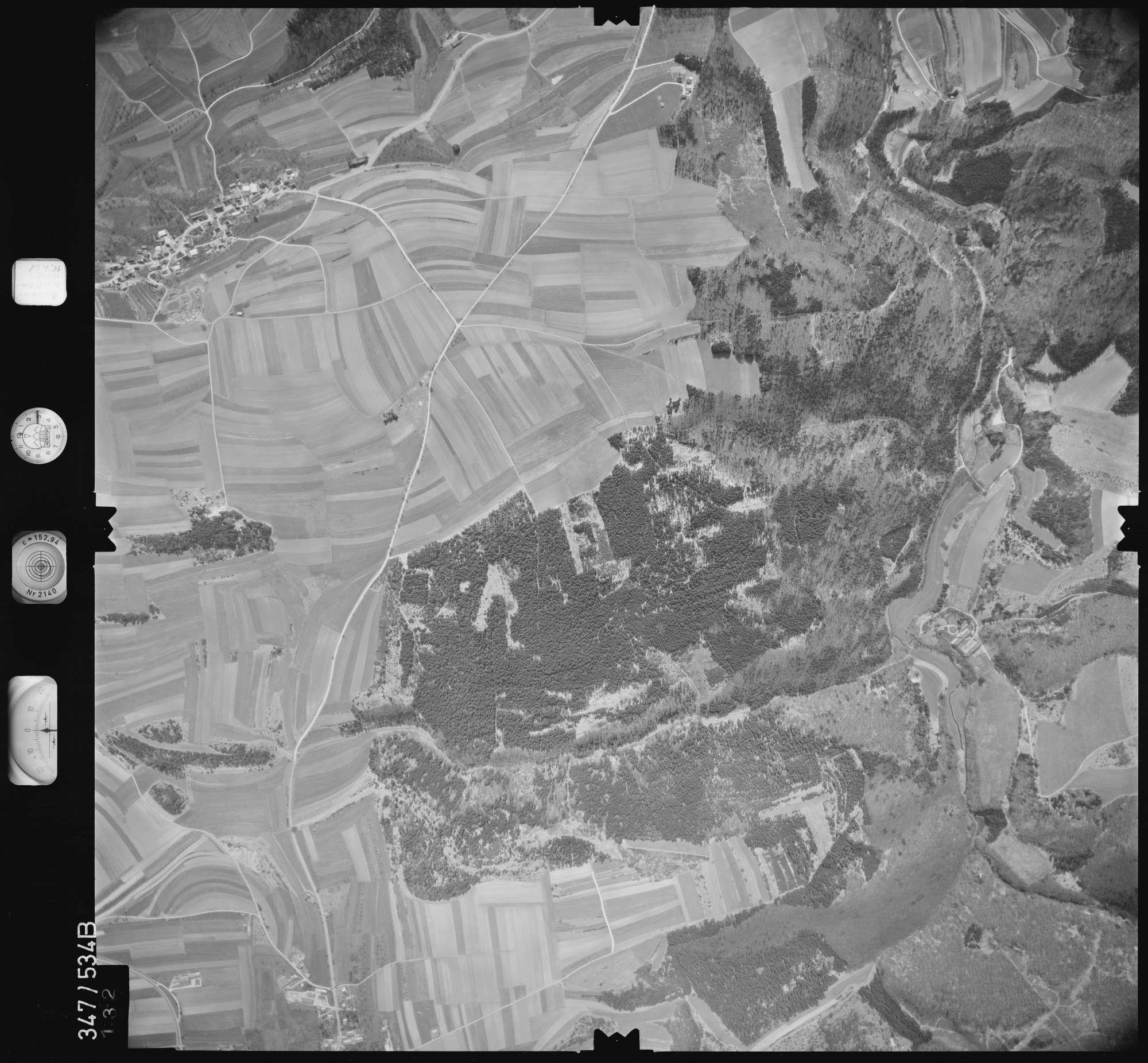 Luftbild: Film 45 Bildnr. 132, Bild 1