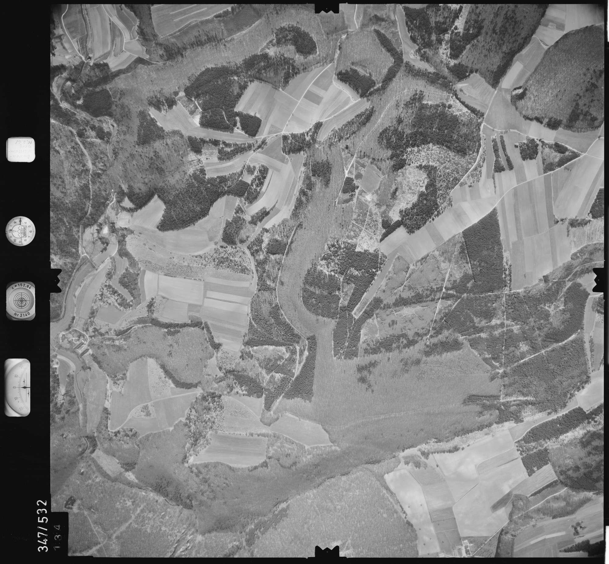 Luftbild: Film 45 Bildnr. 134, Bild 1