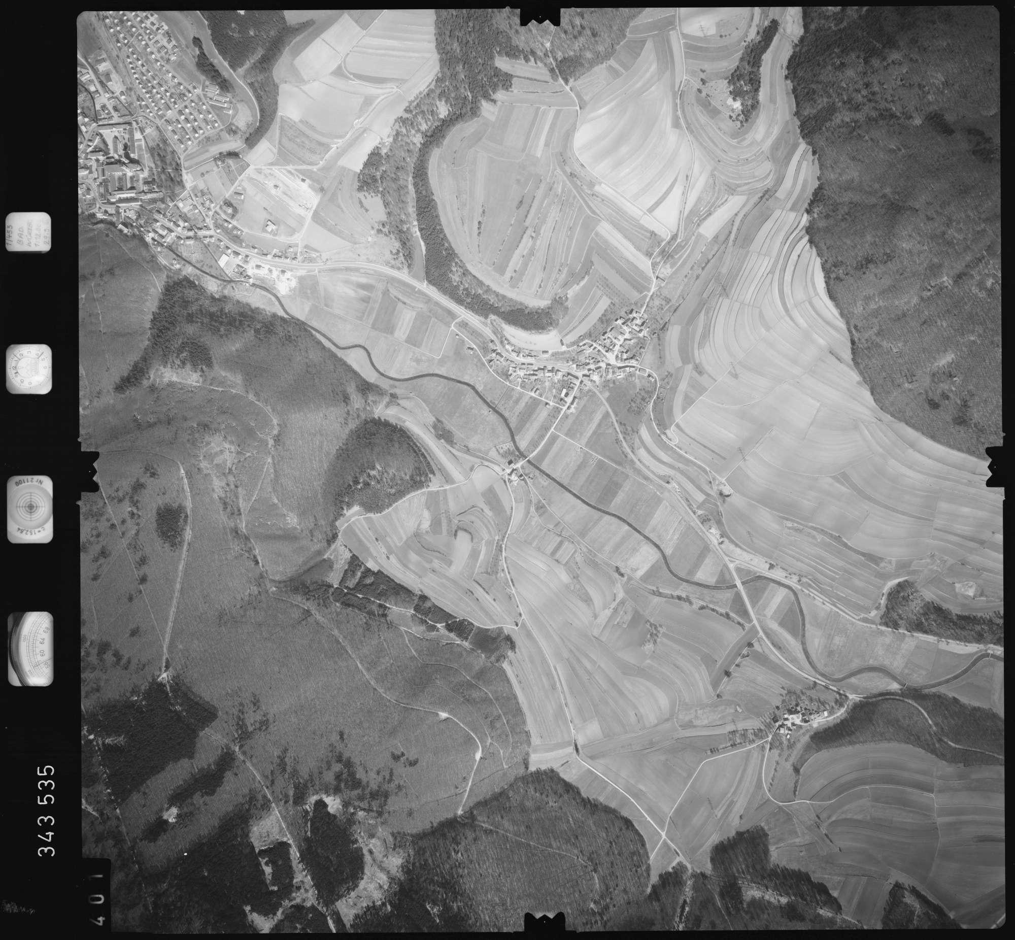 Luftbild: Film 46 Bildnr. 401, Bild 1