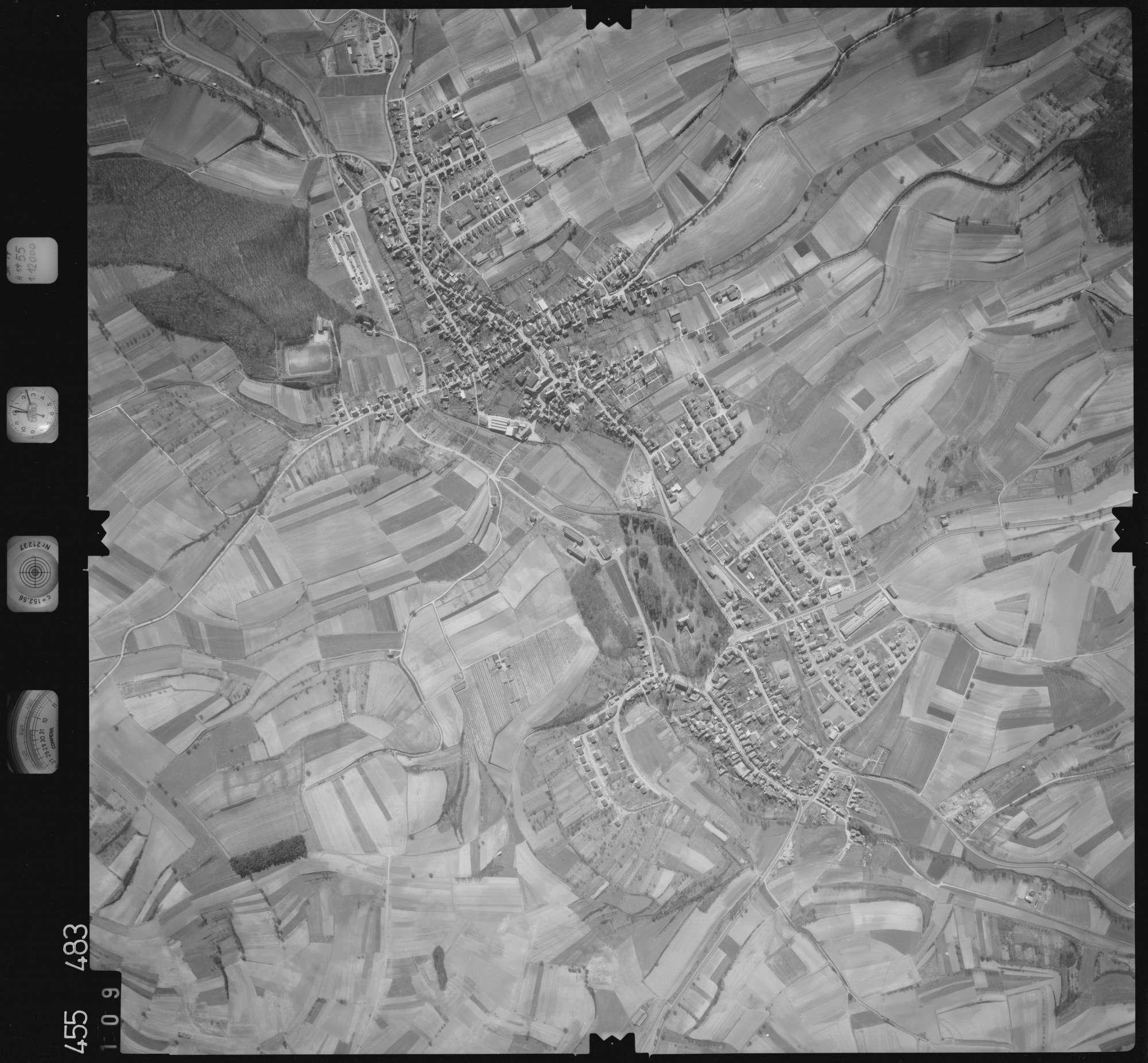 Luftbild: Film 17 Bildnr. 109, Bild 1