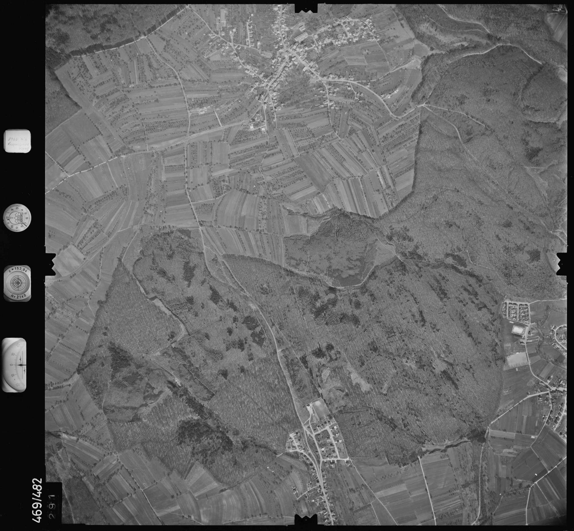 Luftbild: Film 101 Bildnr. 291, Bild 1