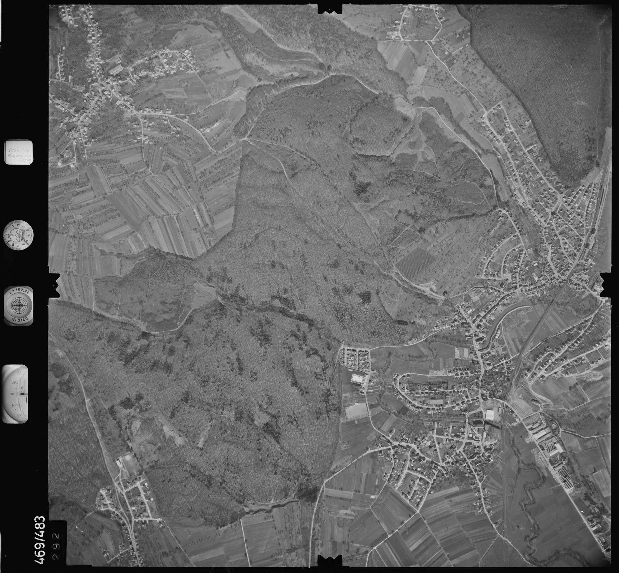Luftbild: Film 101 Bildnr. 292, Bild 1