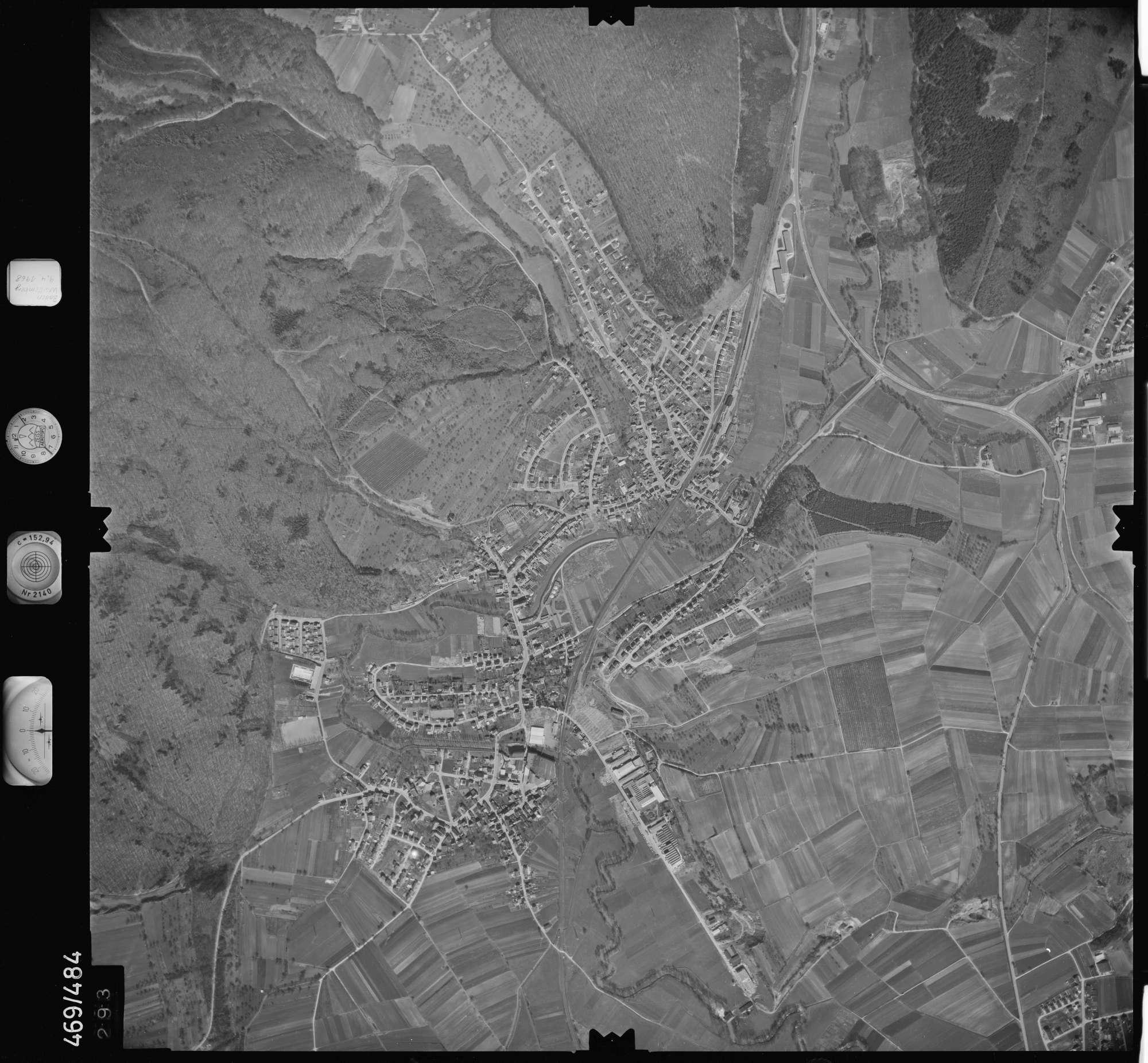 Luftbild: Film 101 Bildnr. 293, Bild 1