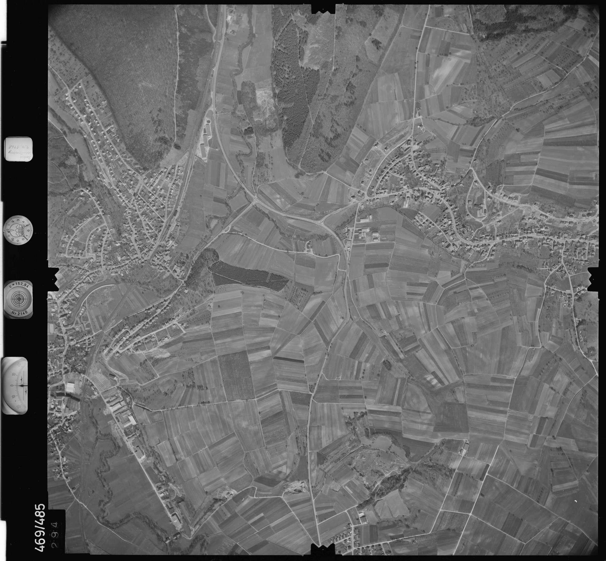 Luftbild: Film 101 Bildnr. 294, Bild 1