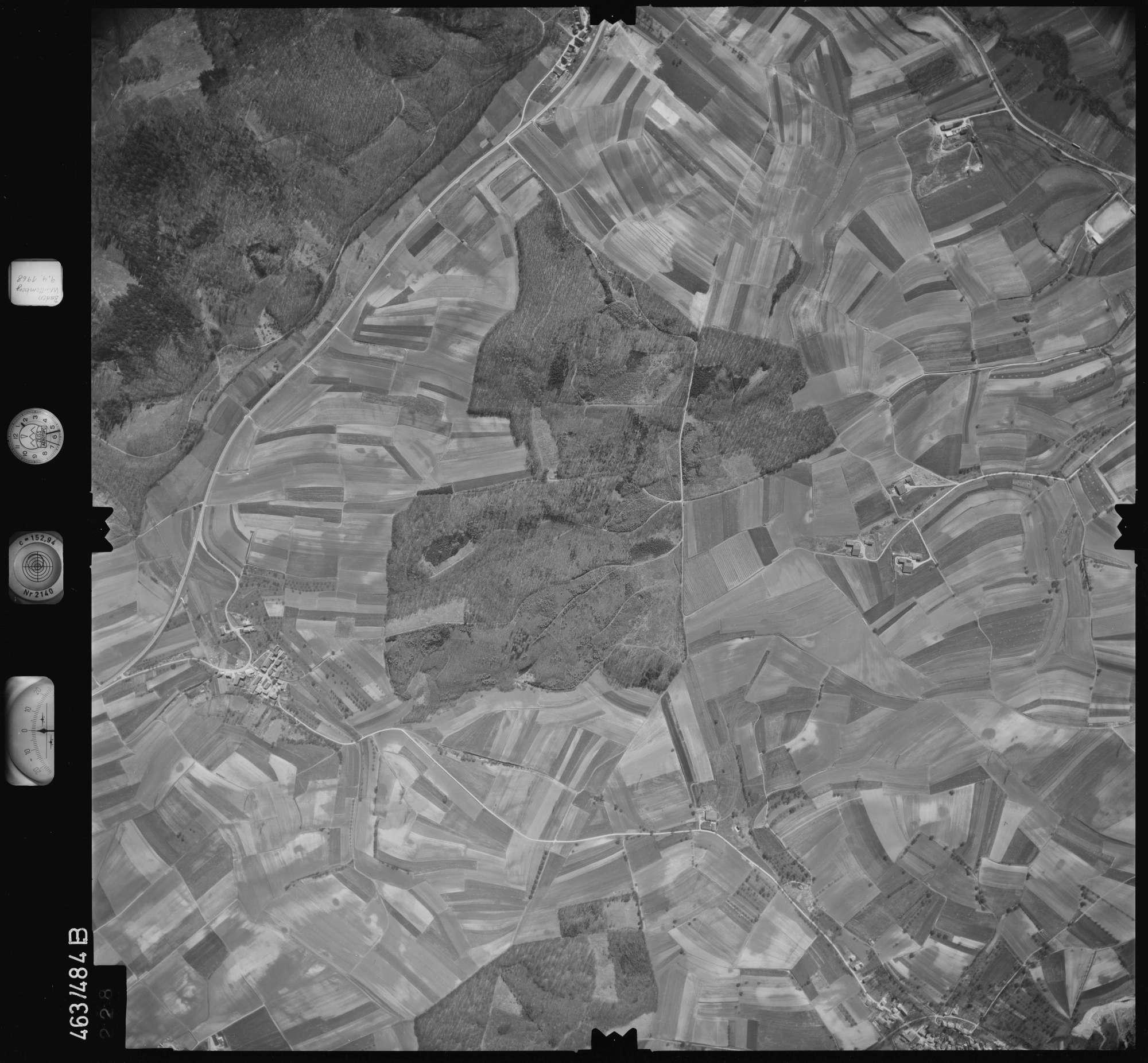 Luftbild: Film 102 Bildnr. 228, Bild 1