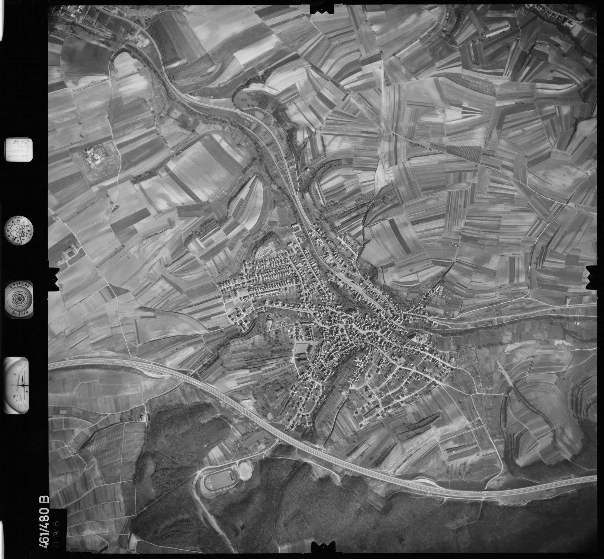 Luftbild: Film 103 Bildnr. 36, Bild 1