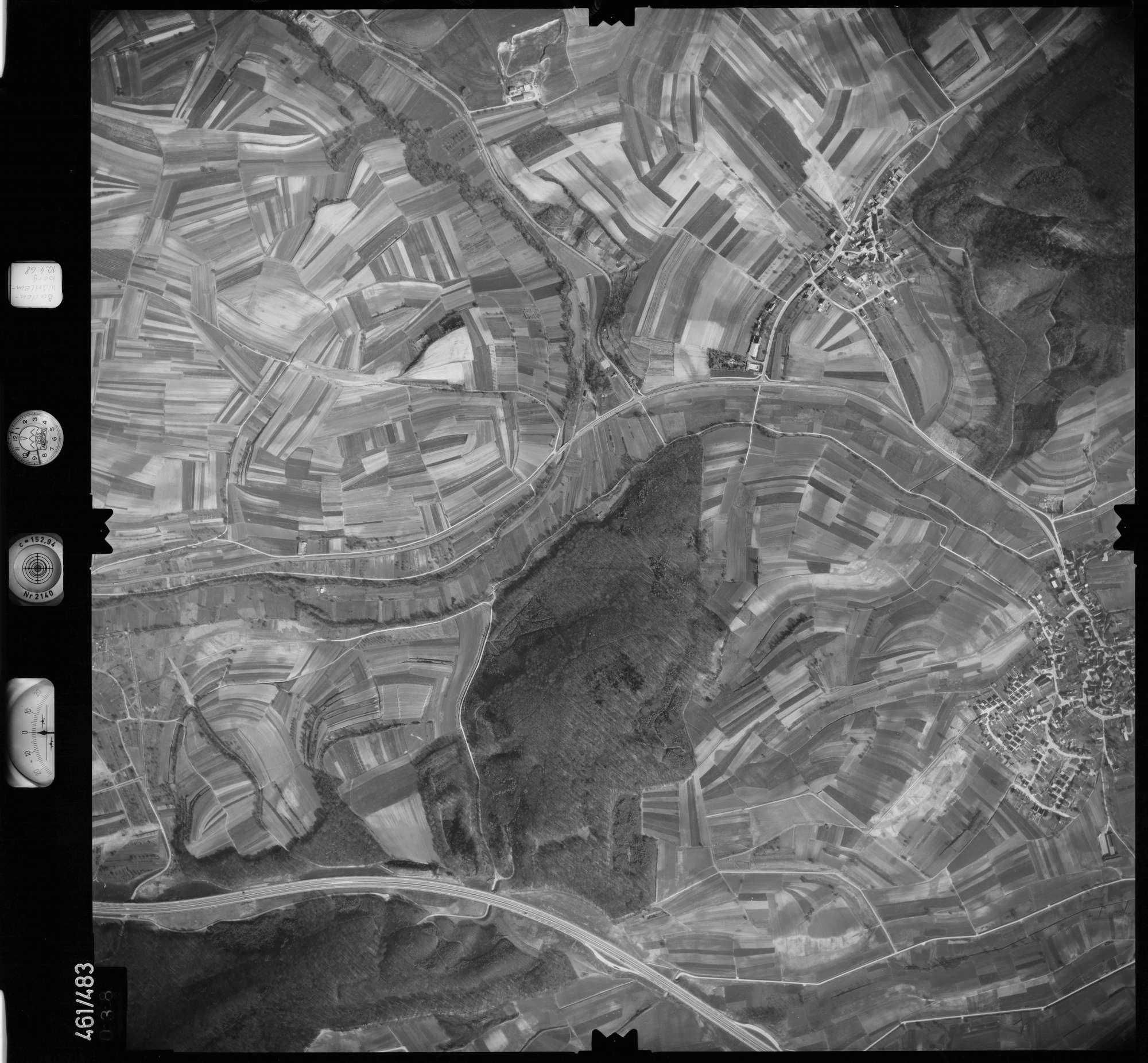 Luftbild: Film 103 Bildnr. 38, Bild 1