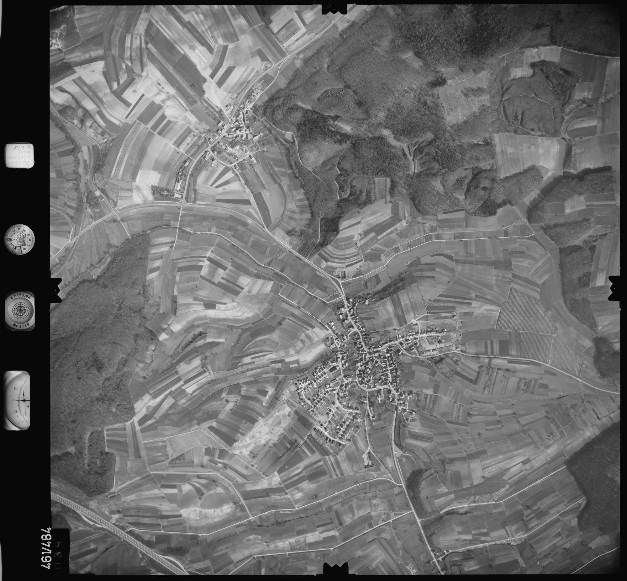 Luftbild: Film 103 Bildnr. 39, Bild 1