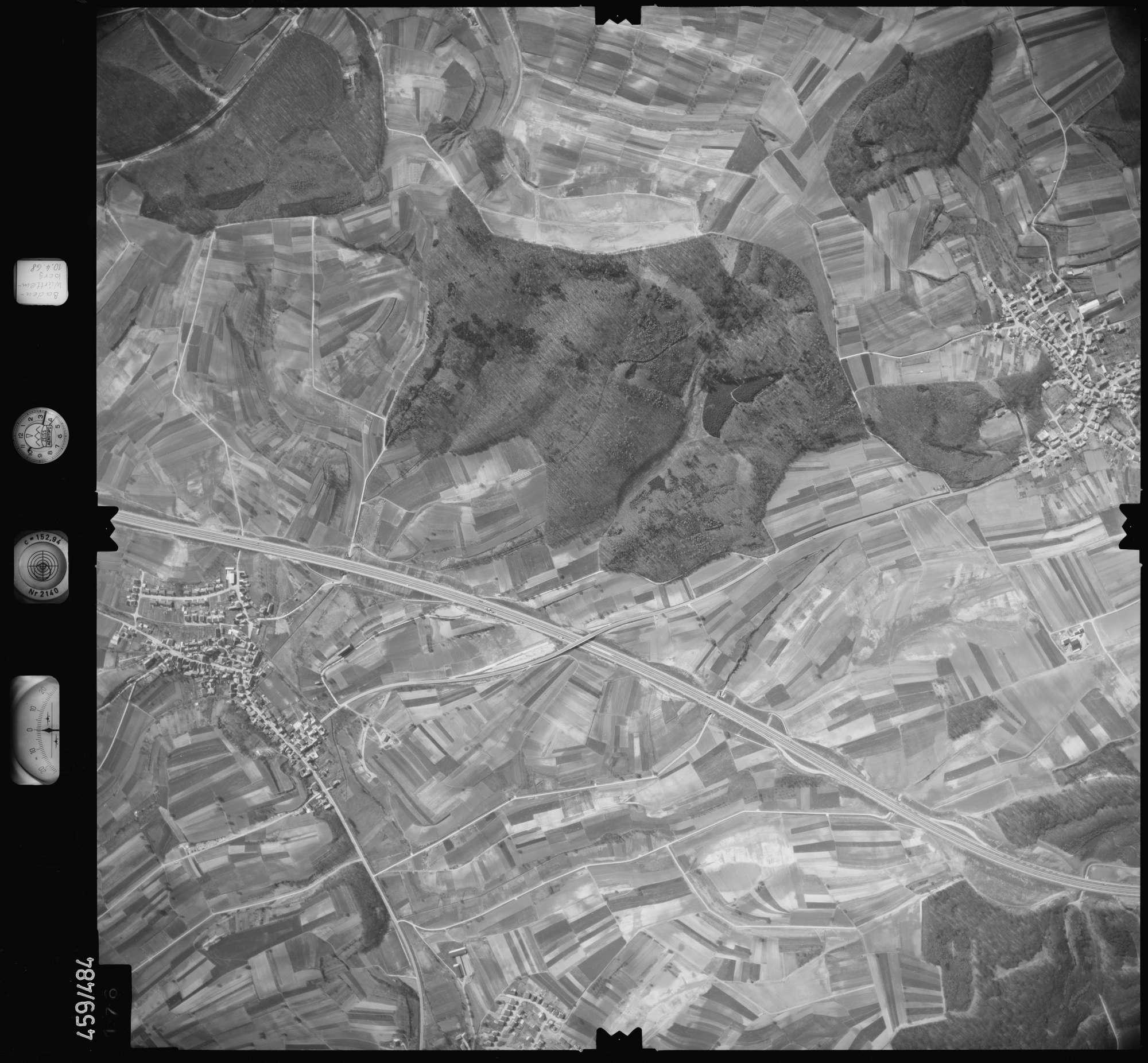 Luftbild: Film 103 Bildnr. 176, Bild 1
