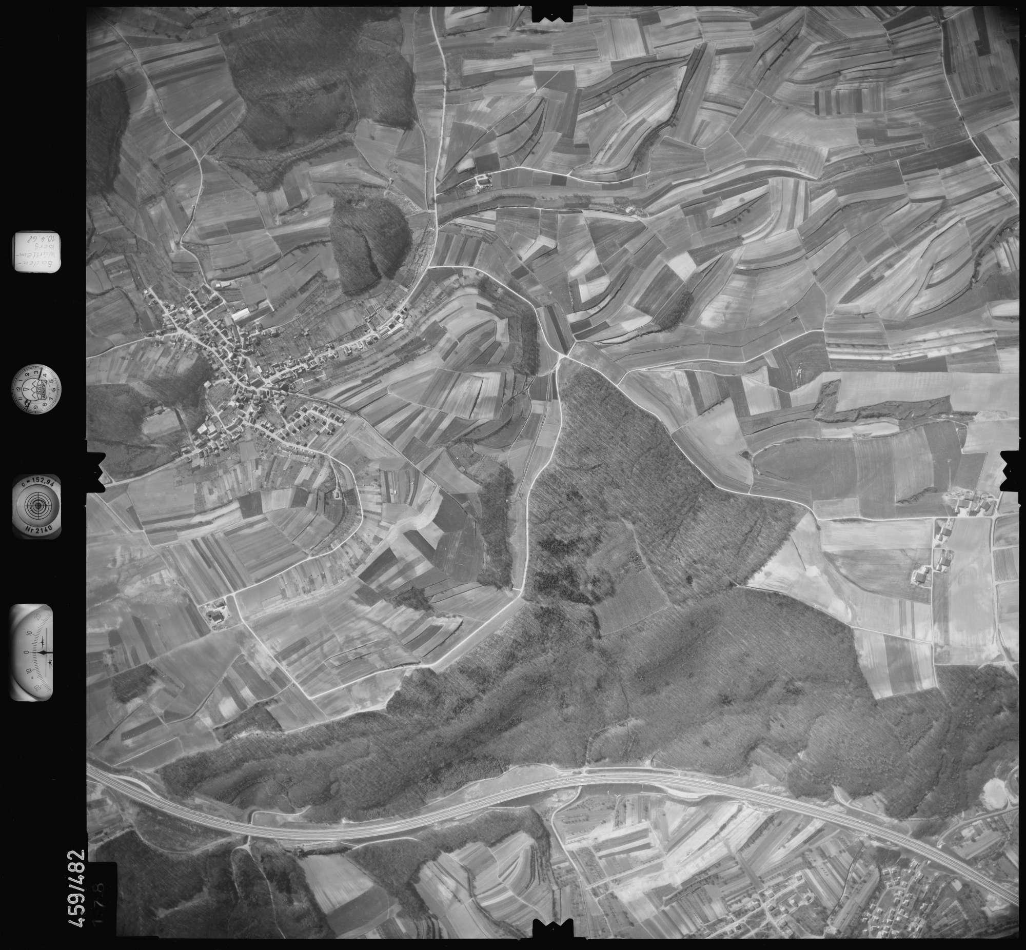 Luftbild: Film 103 Bildnr. 178, Bild 1
