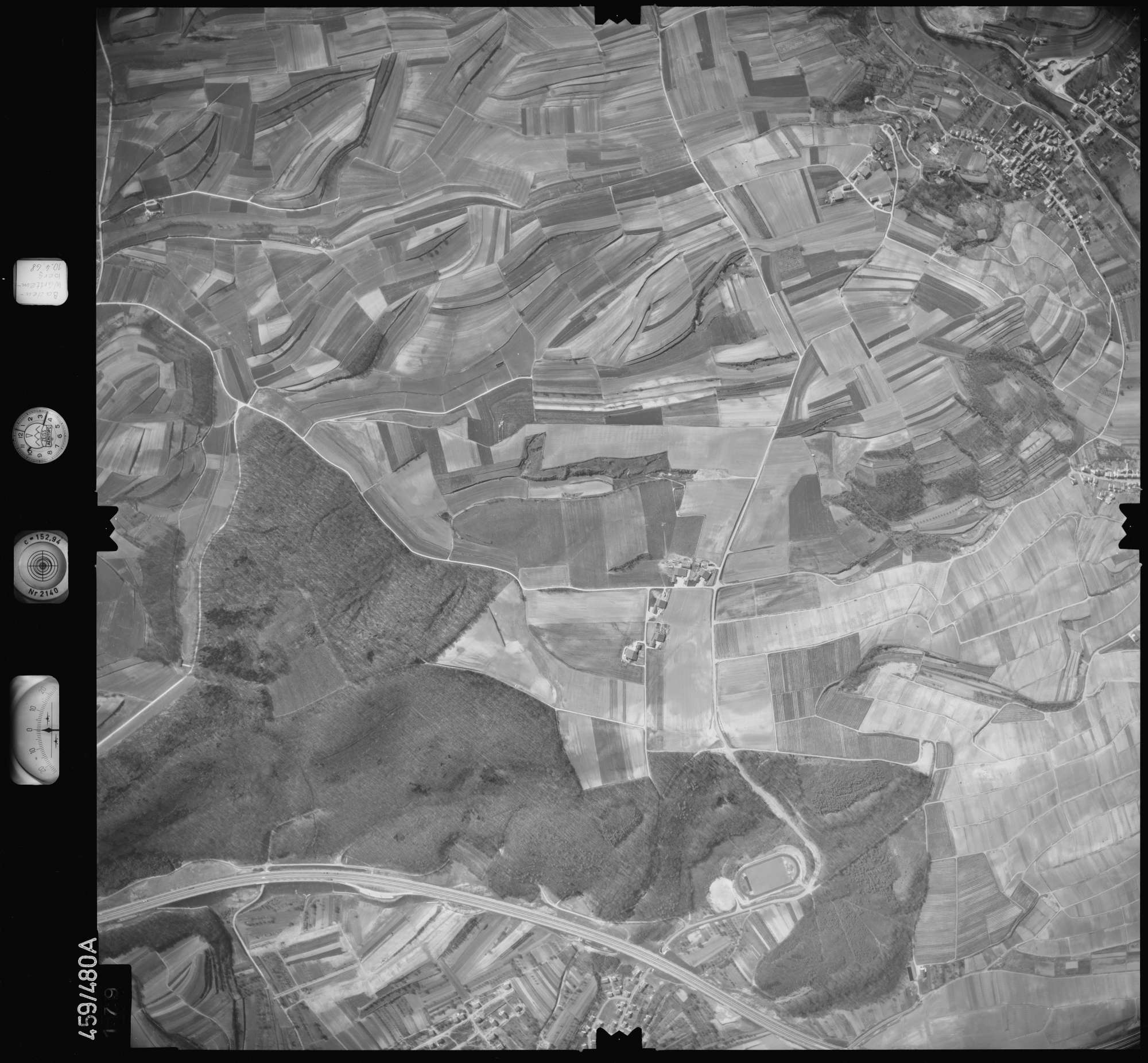 Luftbild: Film 103 Bildnr. 179, Bild 1