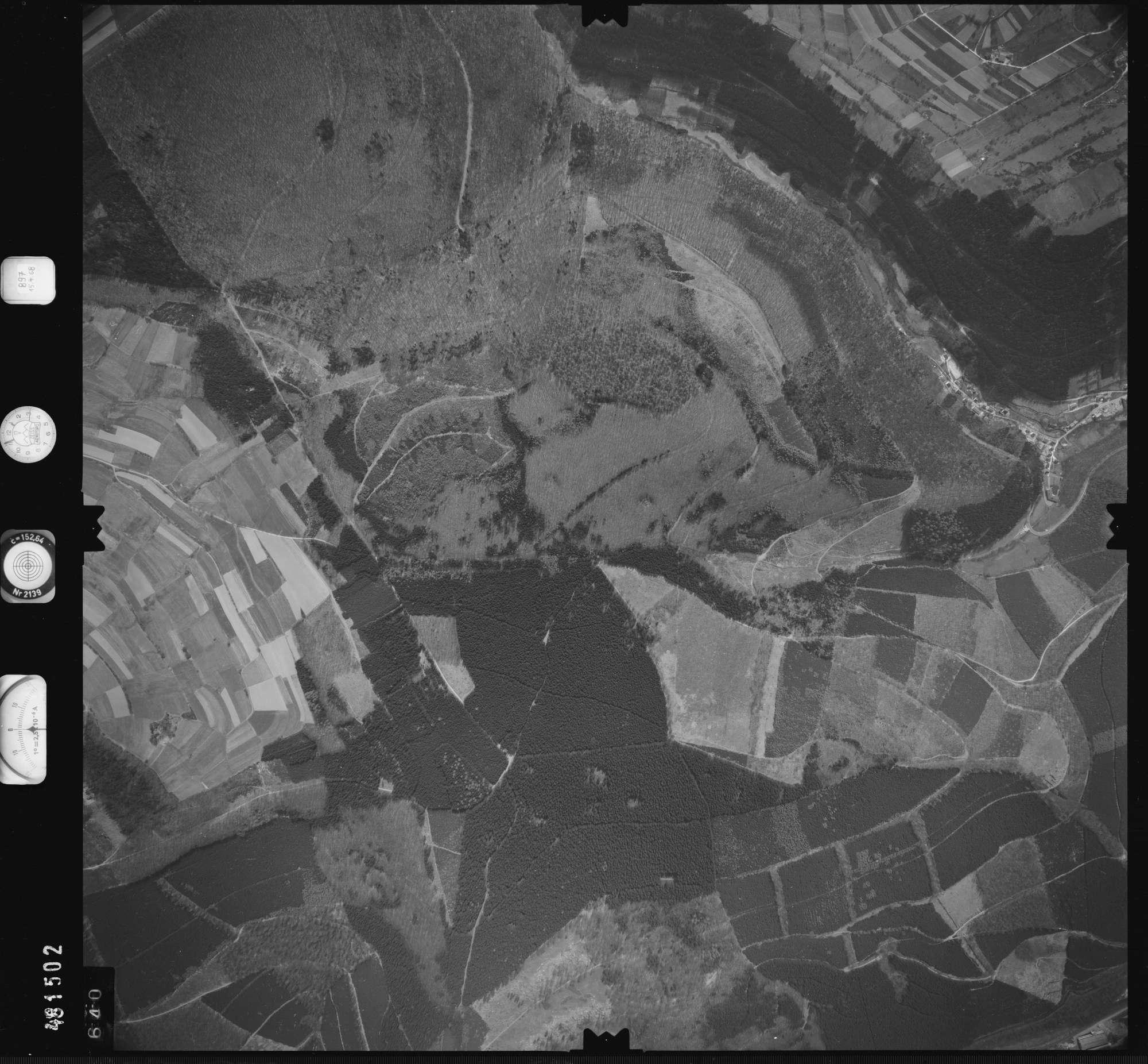 Luftbild: Film 897 Bildnr. 640, Bild 1