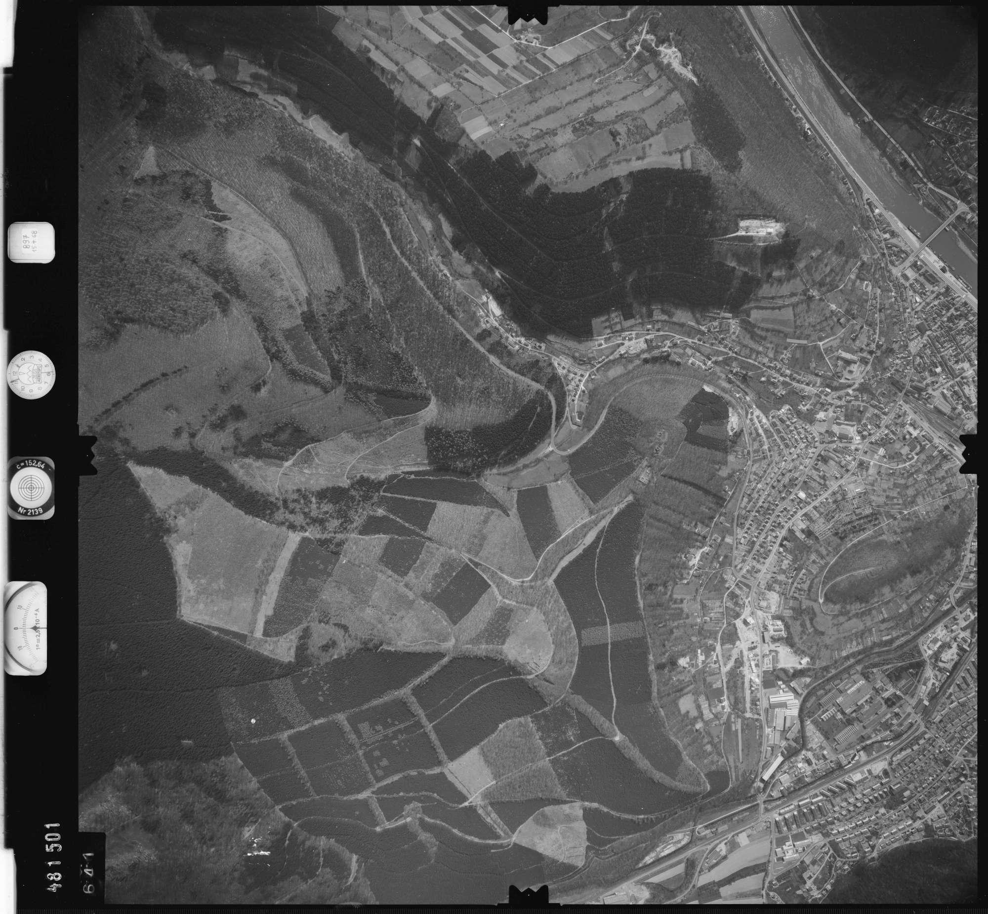 Luftbild: Film 897 Bildnr. 641, Bild 1