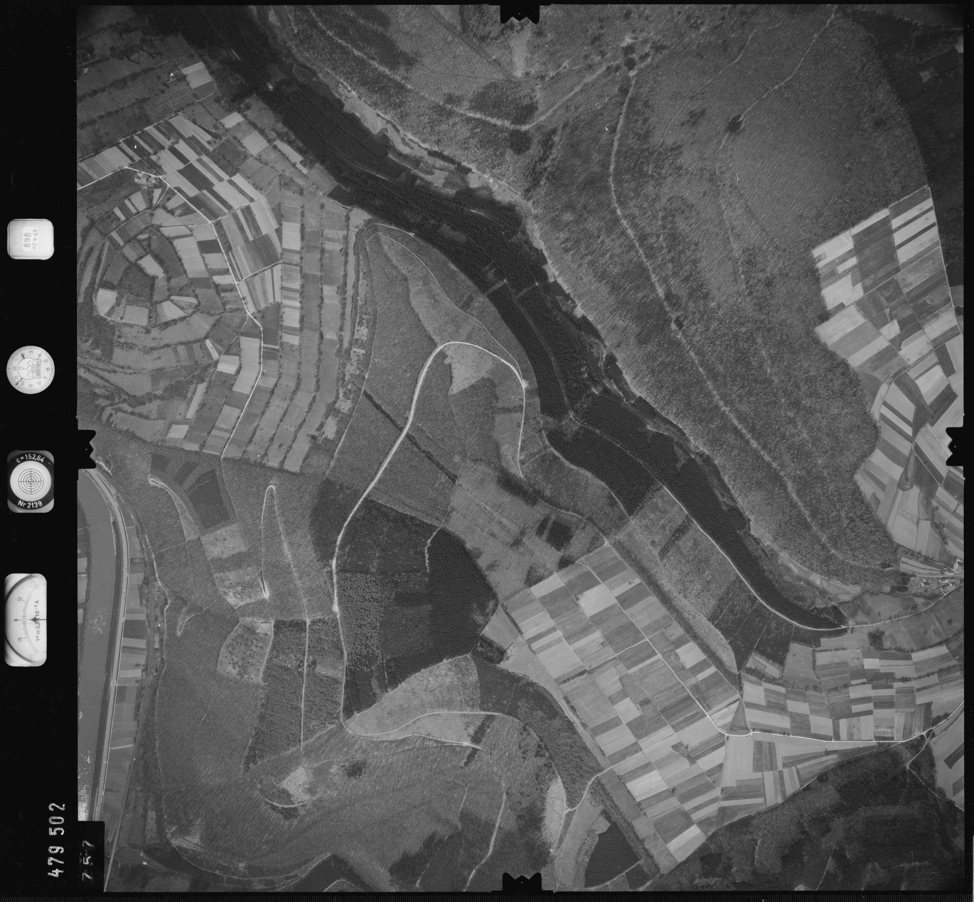 Luftbild: Film 898 Bildnr. 757, Bild 1