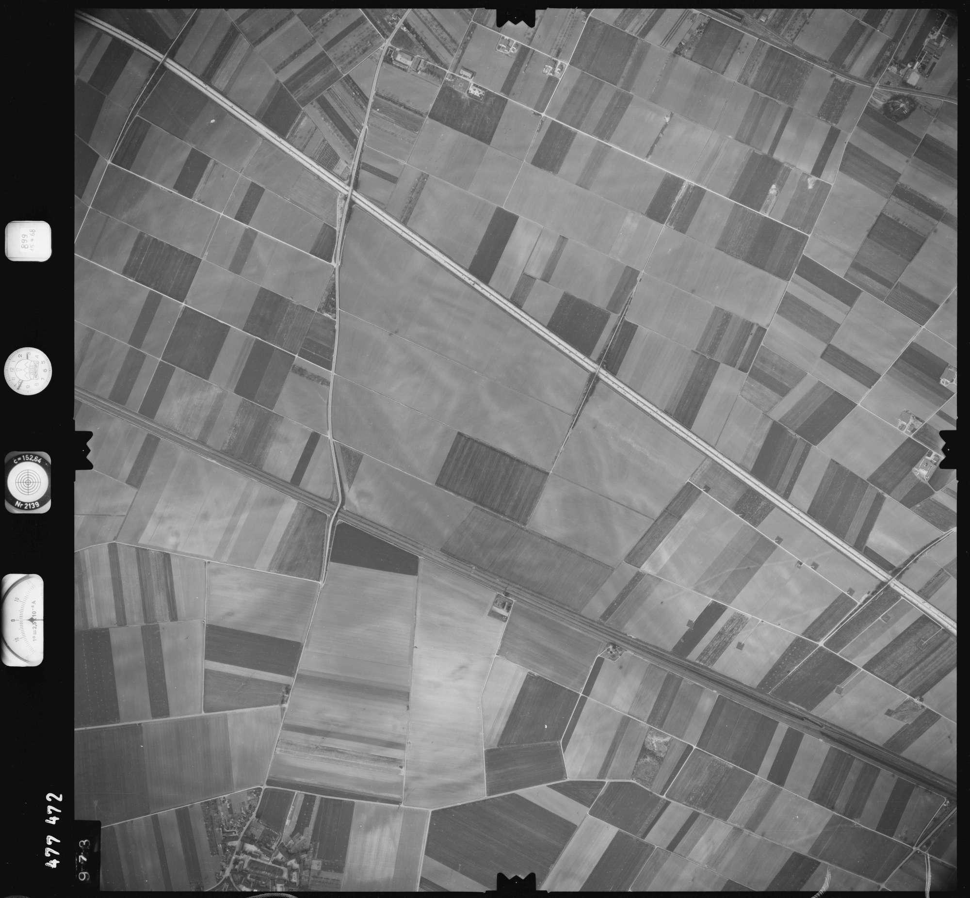 Luftbild: Film 899 Bildnr. 973, Bild 1