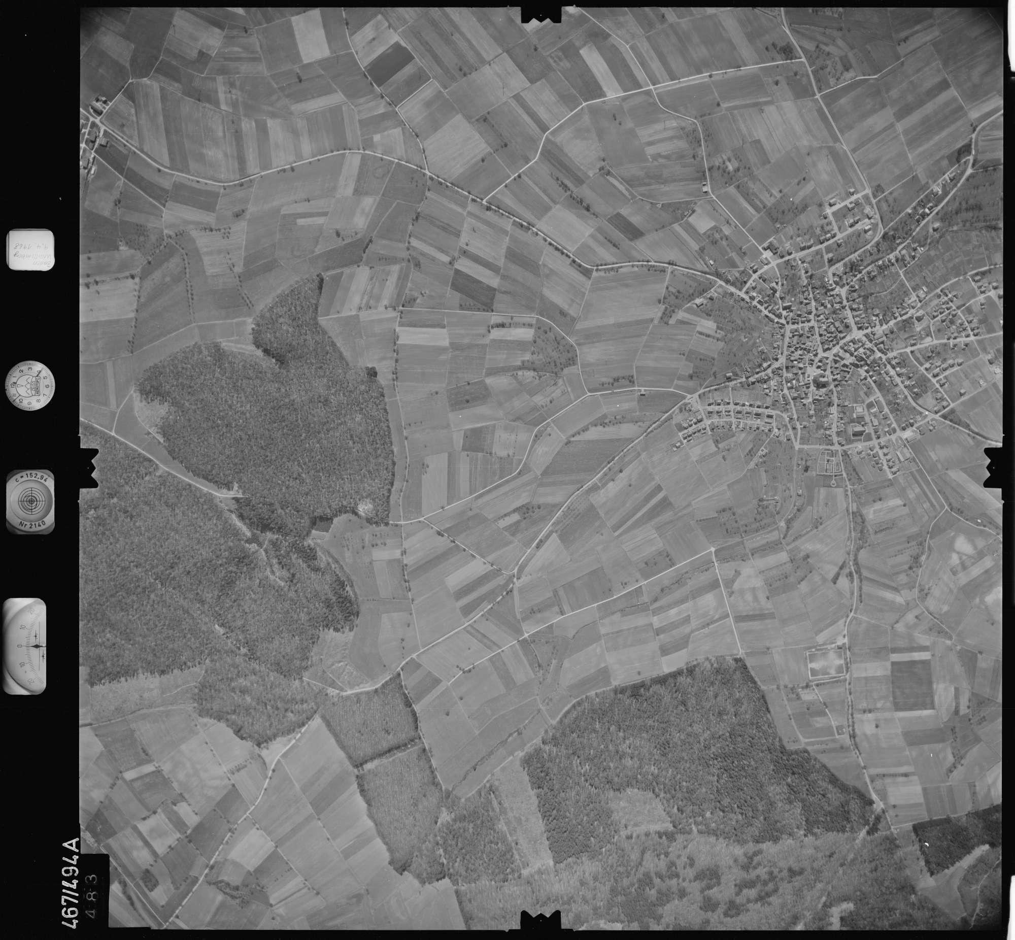 Luftbild: Film 101 Bildnr. 483, Bild 1