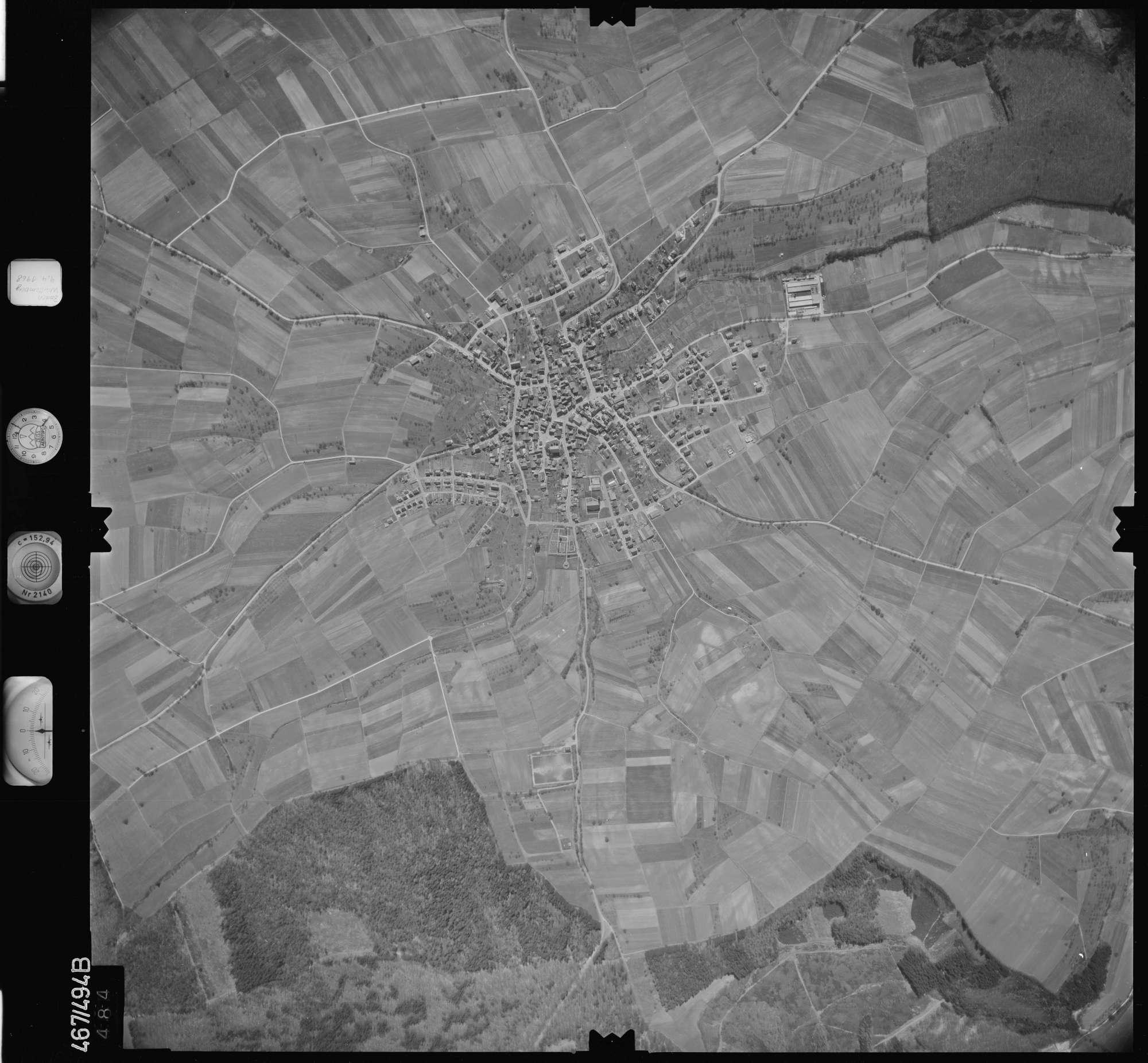 Luftbild: Film 101 Bildnr. 484, Bild 1