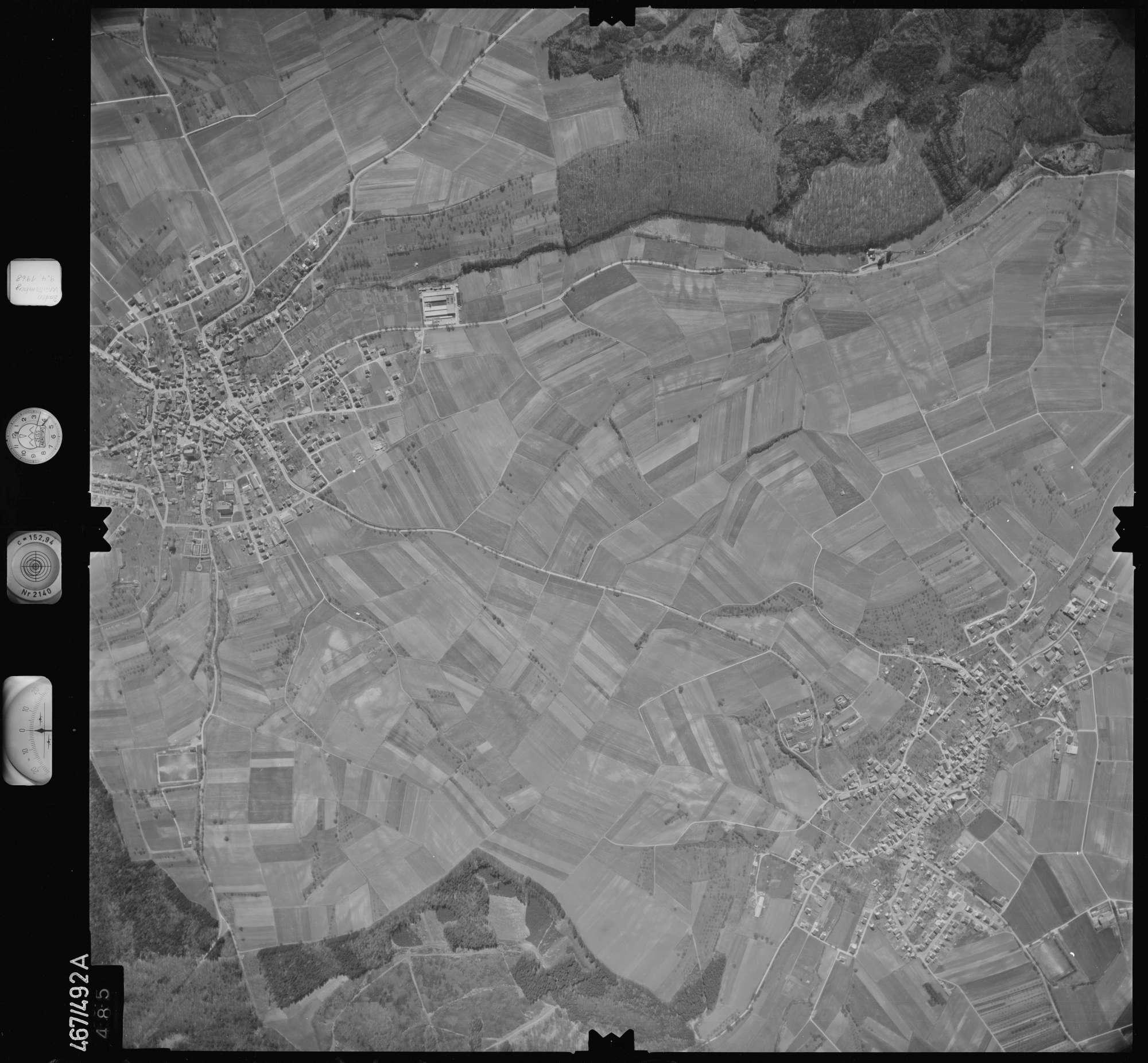 Luftbild: Film 101 Bildnr. 485, Bild 1