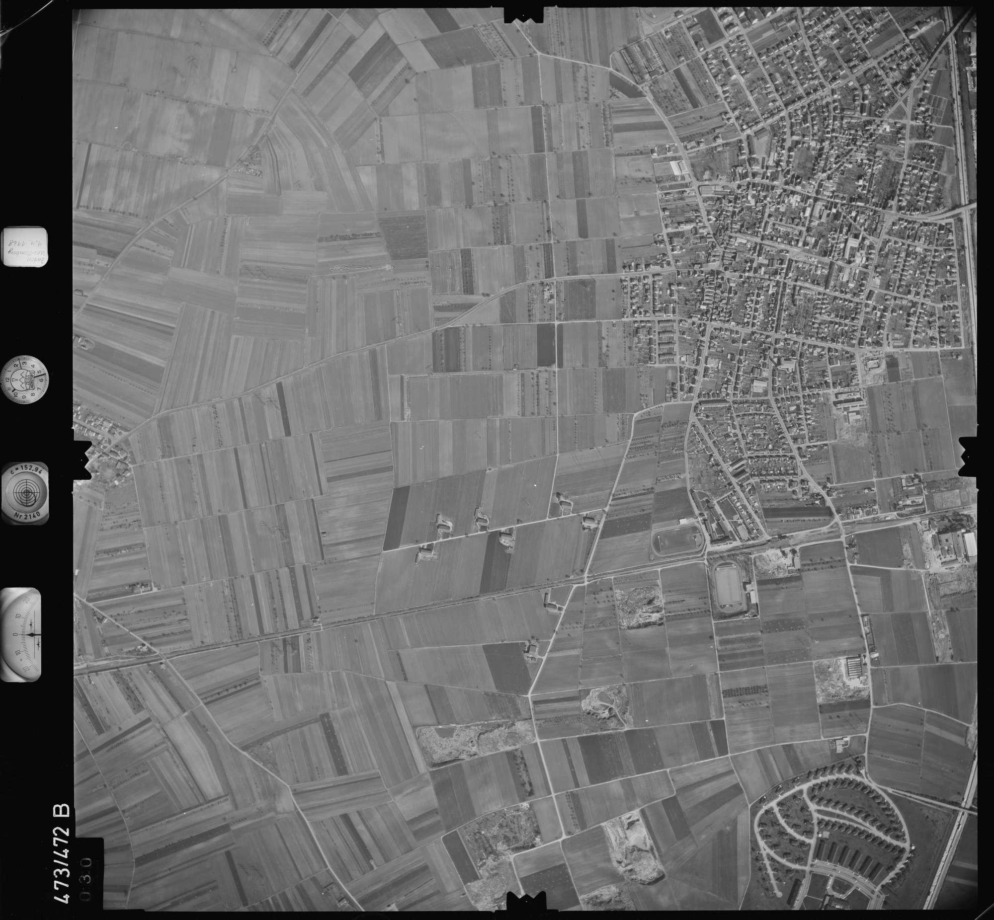Luftbild: Film 100 Bildnr. 30, Bild 1