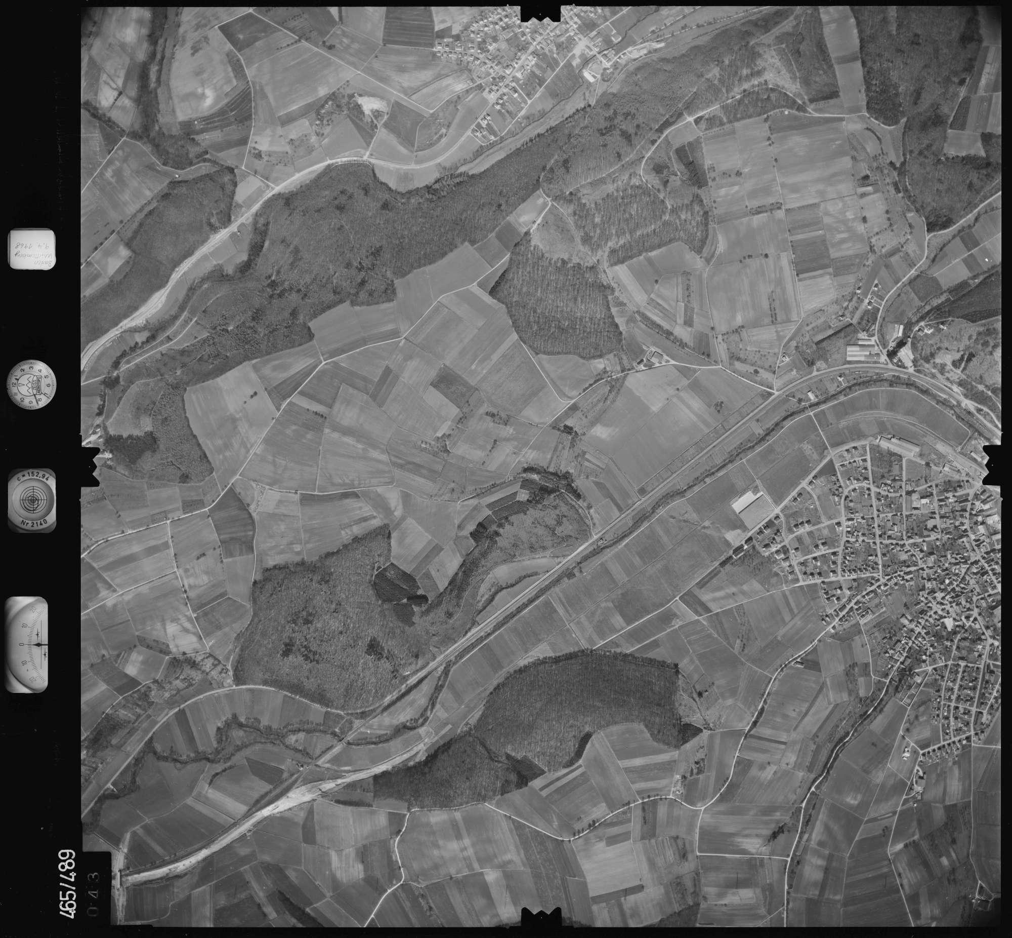 Luftbild: Film 102 Bildnr. 43, Bild 1