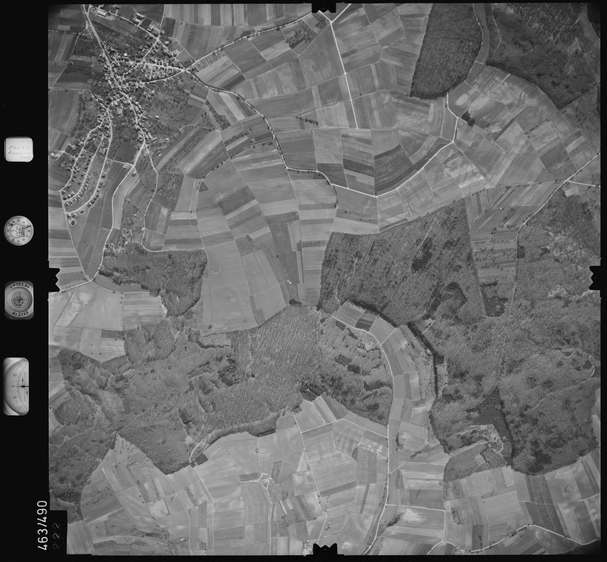 Luftbild: Film 102 Bildnr. 222, Bild 1