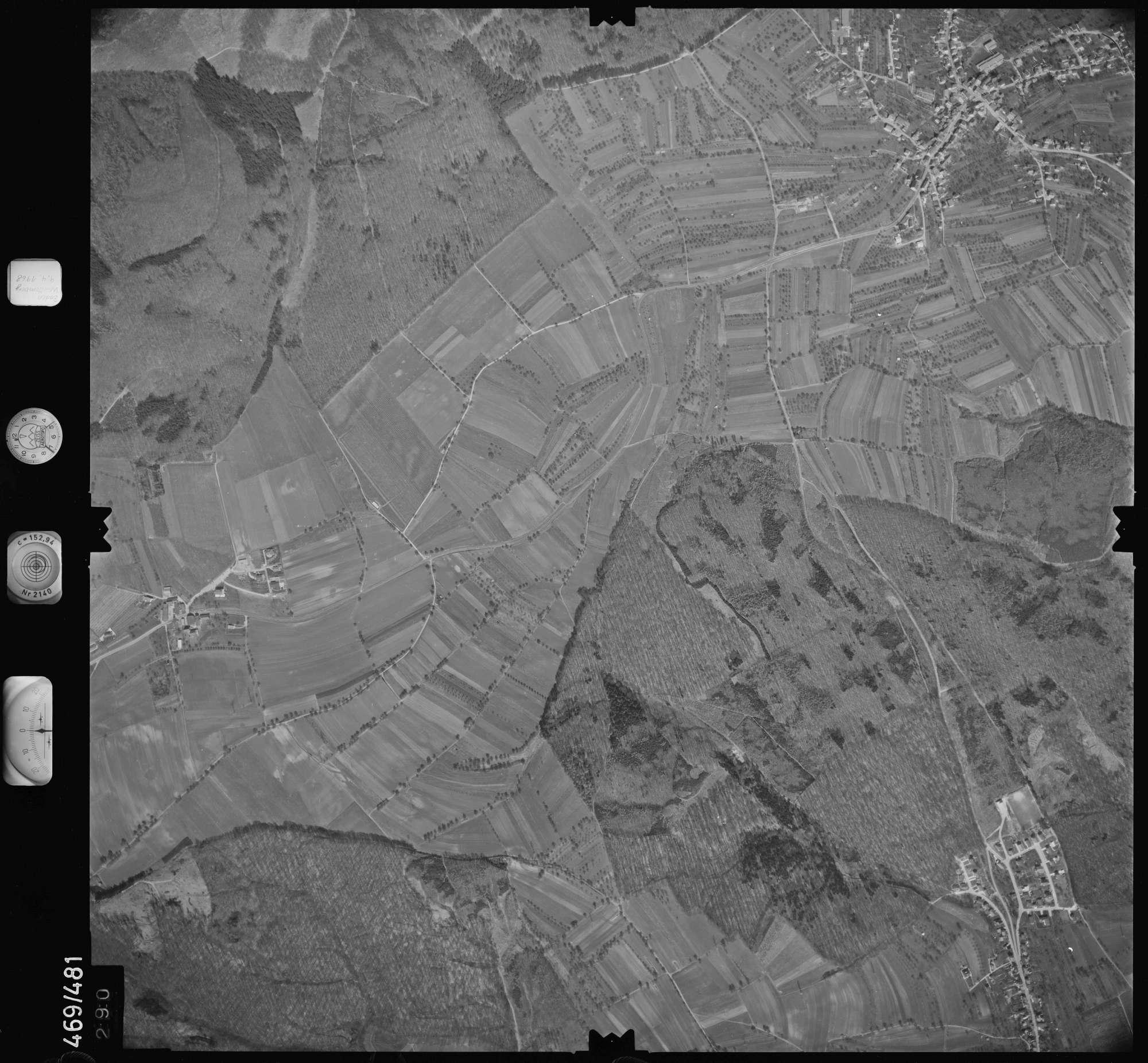 Luftbild: Film 101 Bildnr. 290, Bild 1