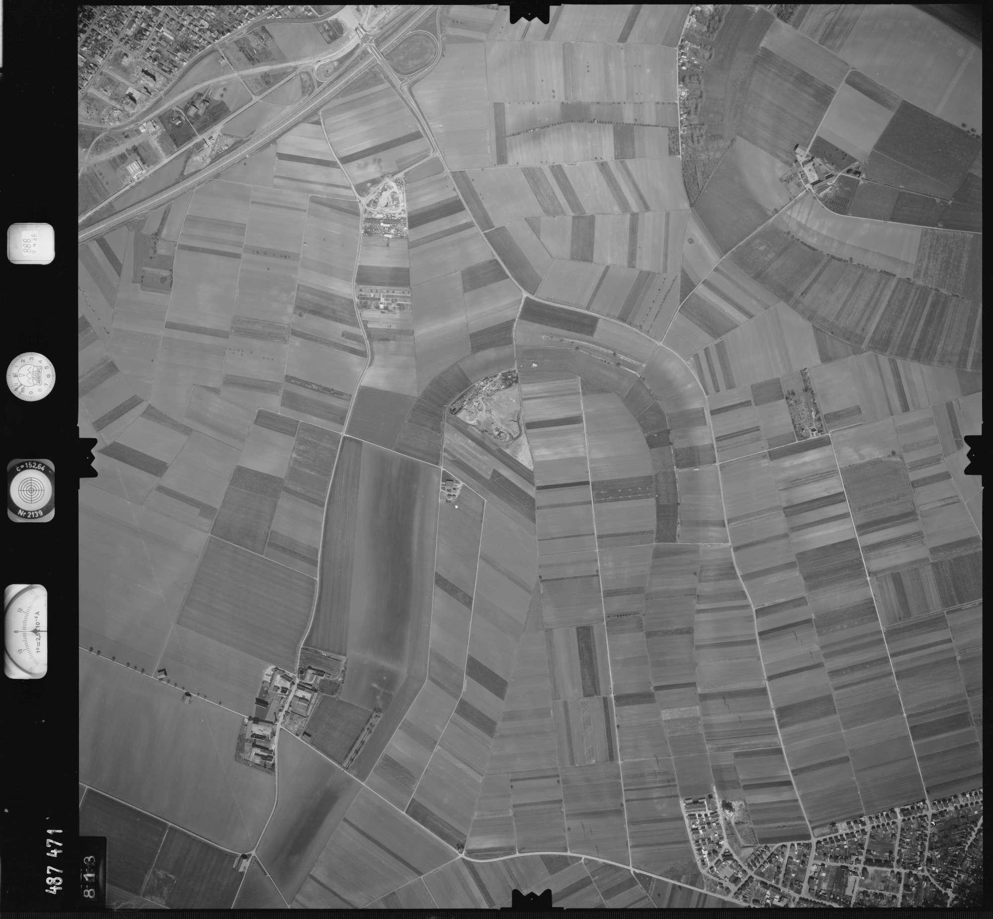 Luftbild: Film 888 Bildnr. 813, Bild 1