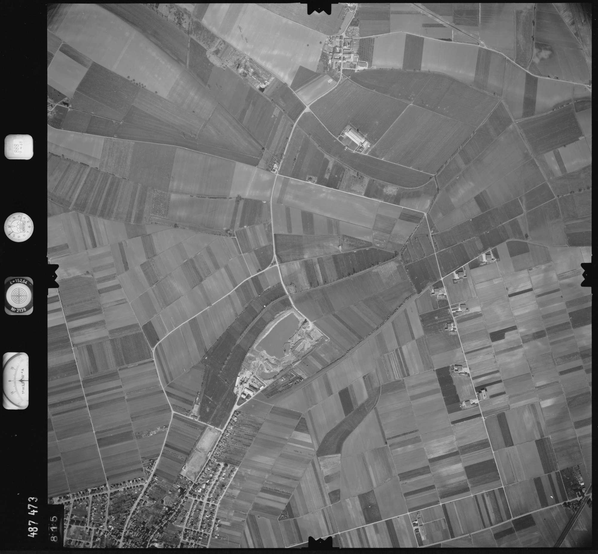 Luftbild: Film 888 Bildnr. 815, Bild 1