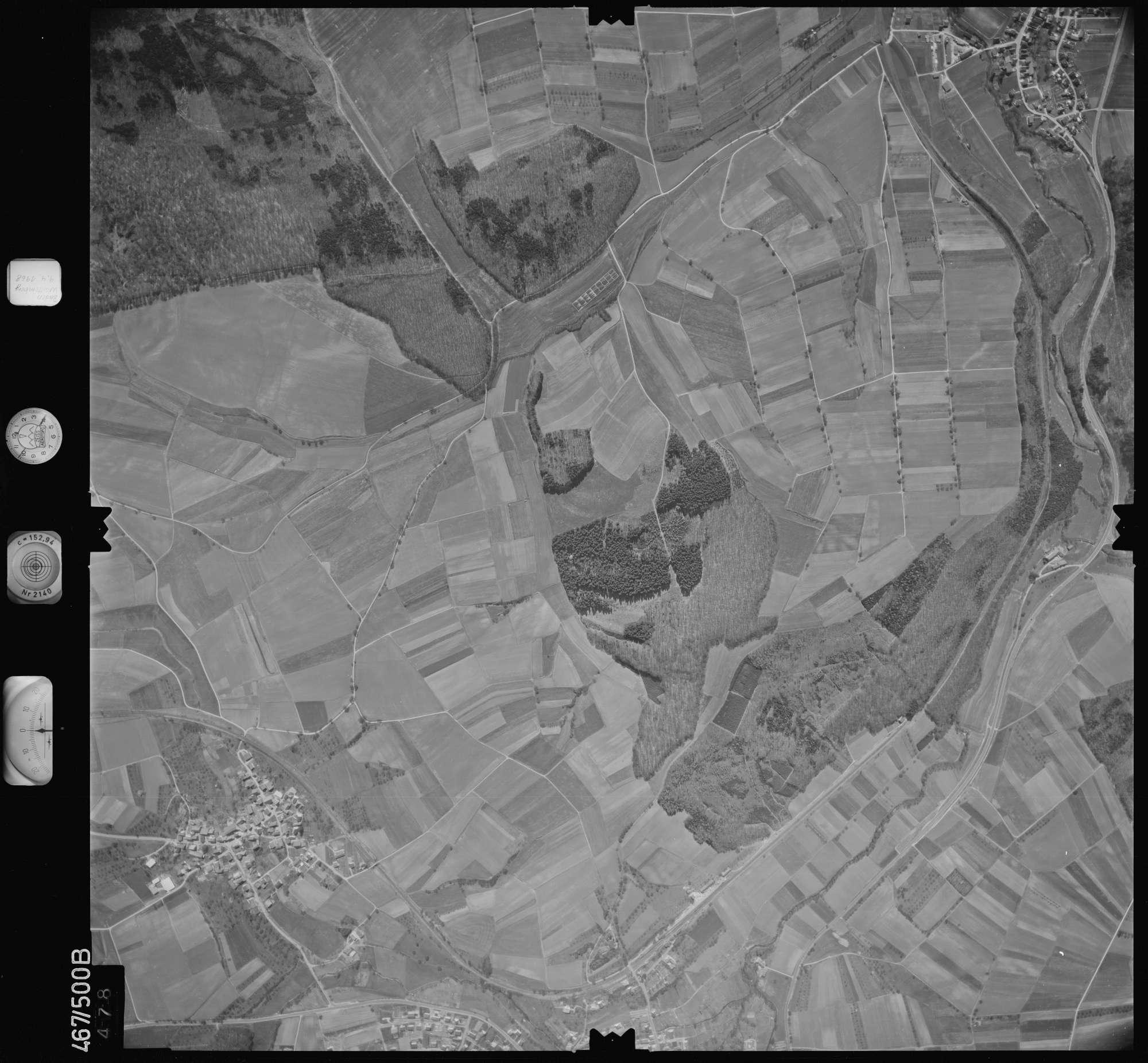 Luftbild: Film 101 Bildnr. 478, Bild 1