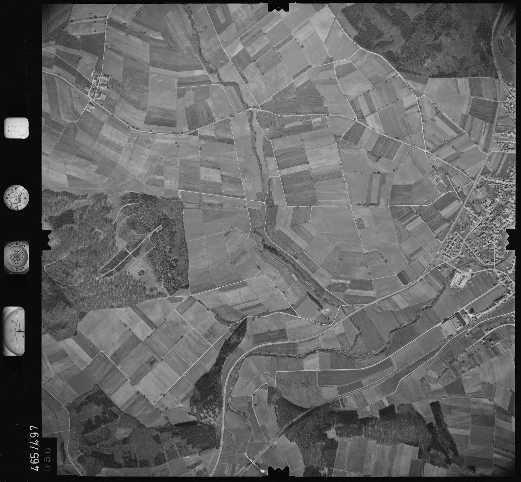 Luftbild: Film 102 Bildnr. 50, Bild 1
